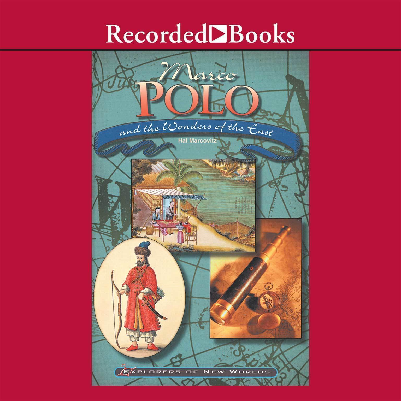 Printable Marco Polo and the Wonders of the East Audiobook Cover Art