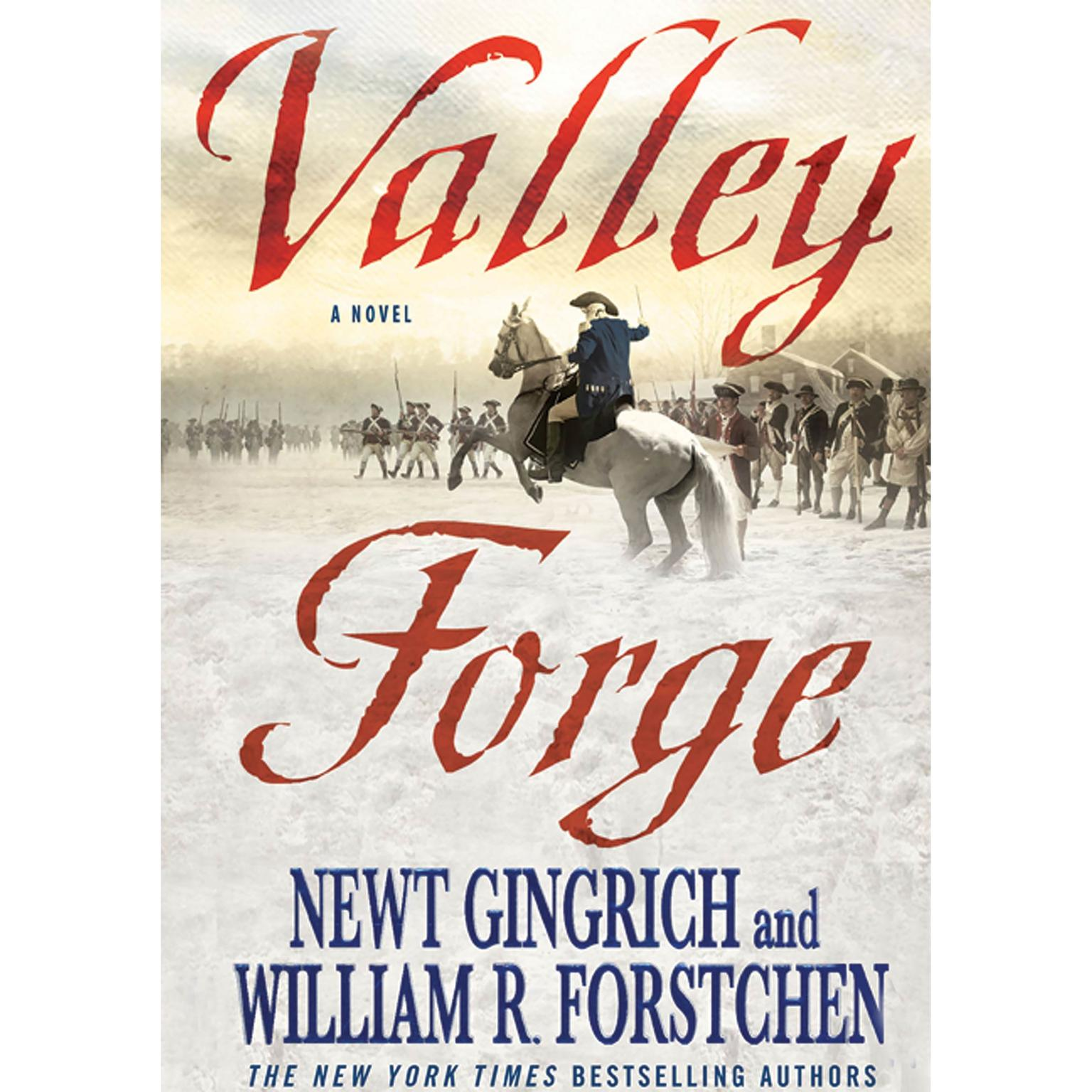 Printable Valley Forge: George Washington and the Crucible of Victory Audiobook Cover Art