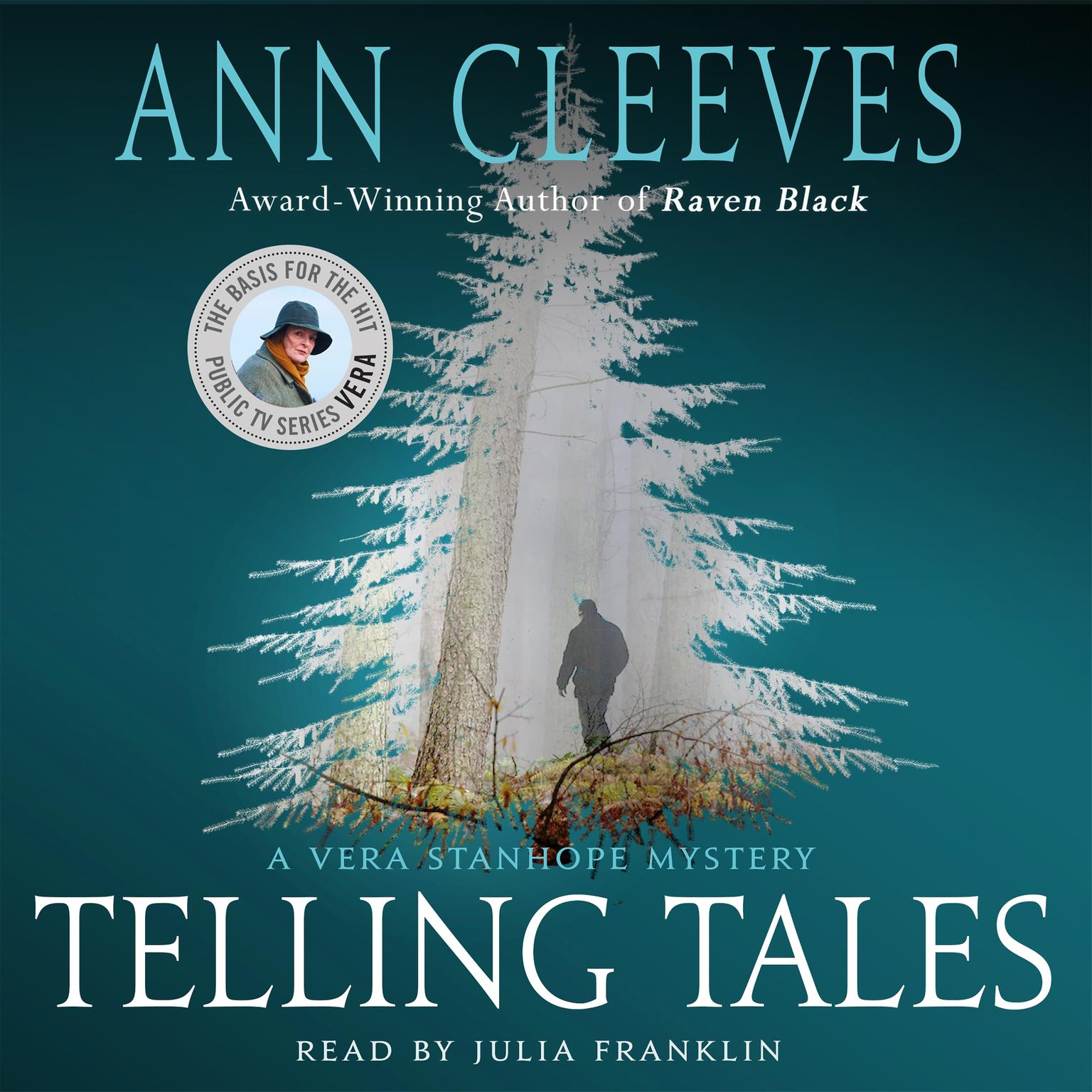 Printable Telling Tales: A Vera Stanhope Mystery Audiobook Cover Art
