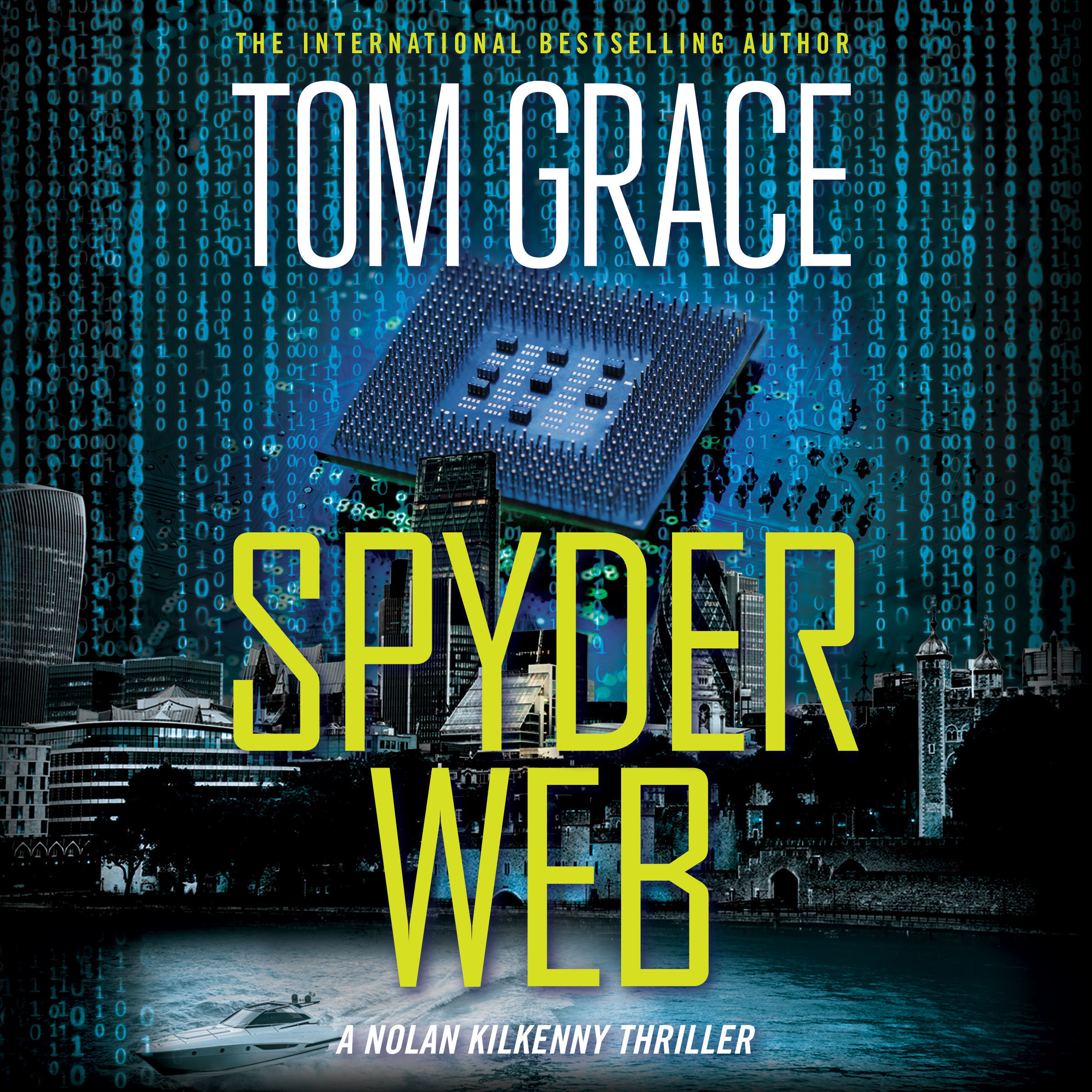 Printable Spyder Web Audiobook Cover Art