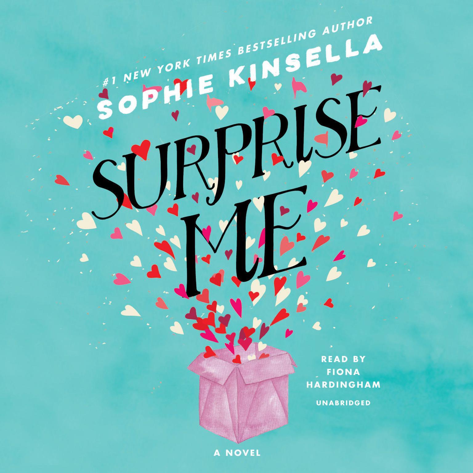Printable Surprise Me: A Novel Audiobook Cover Art