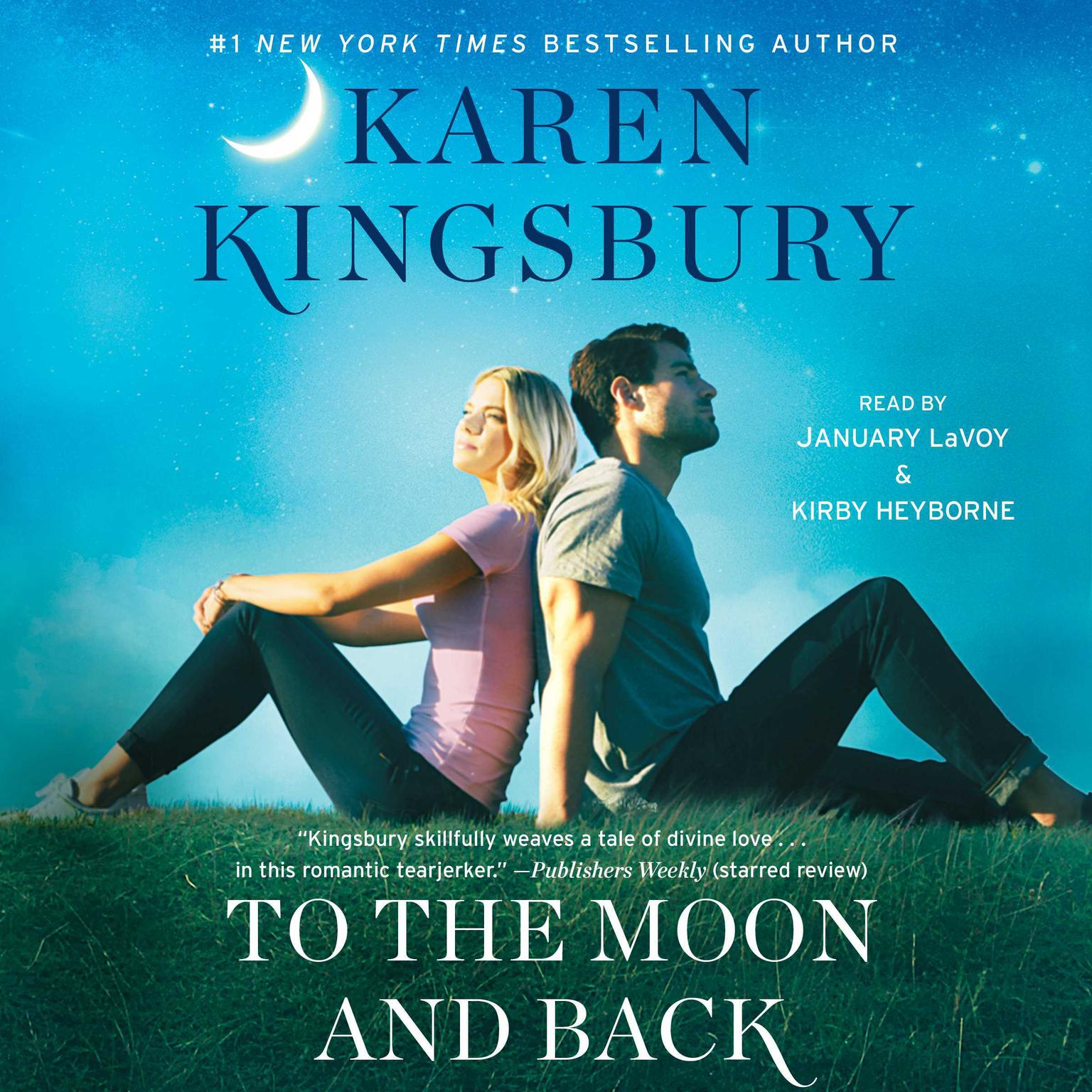 Printable To the Moon and Back: A Novel Audiobook Cover Art