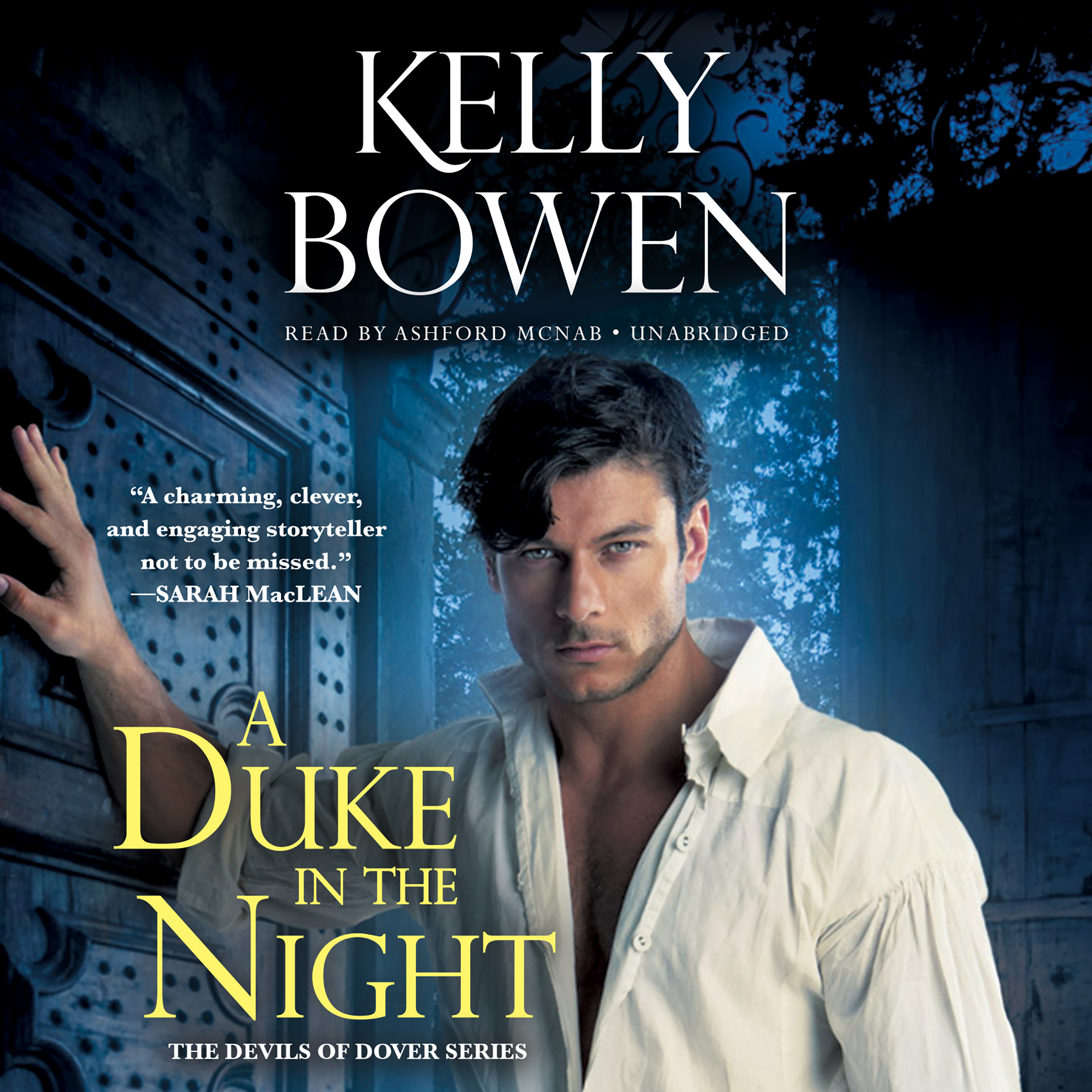 Printable A Duke in the Night Audiobook Cover Art