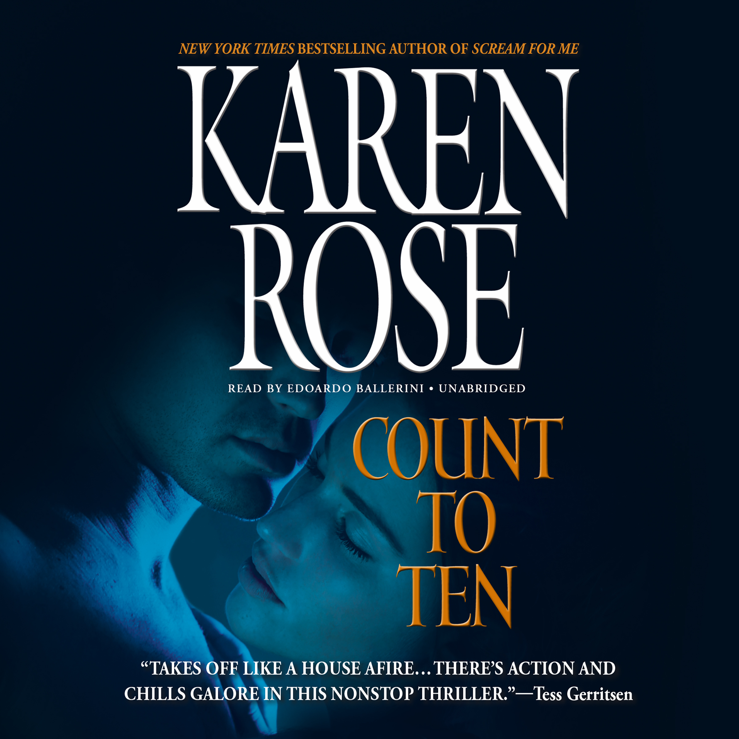Printable Count to Ten Audiobook Cover Art