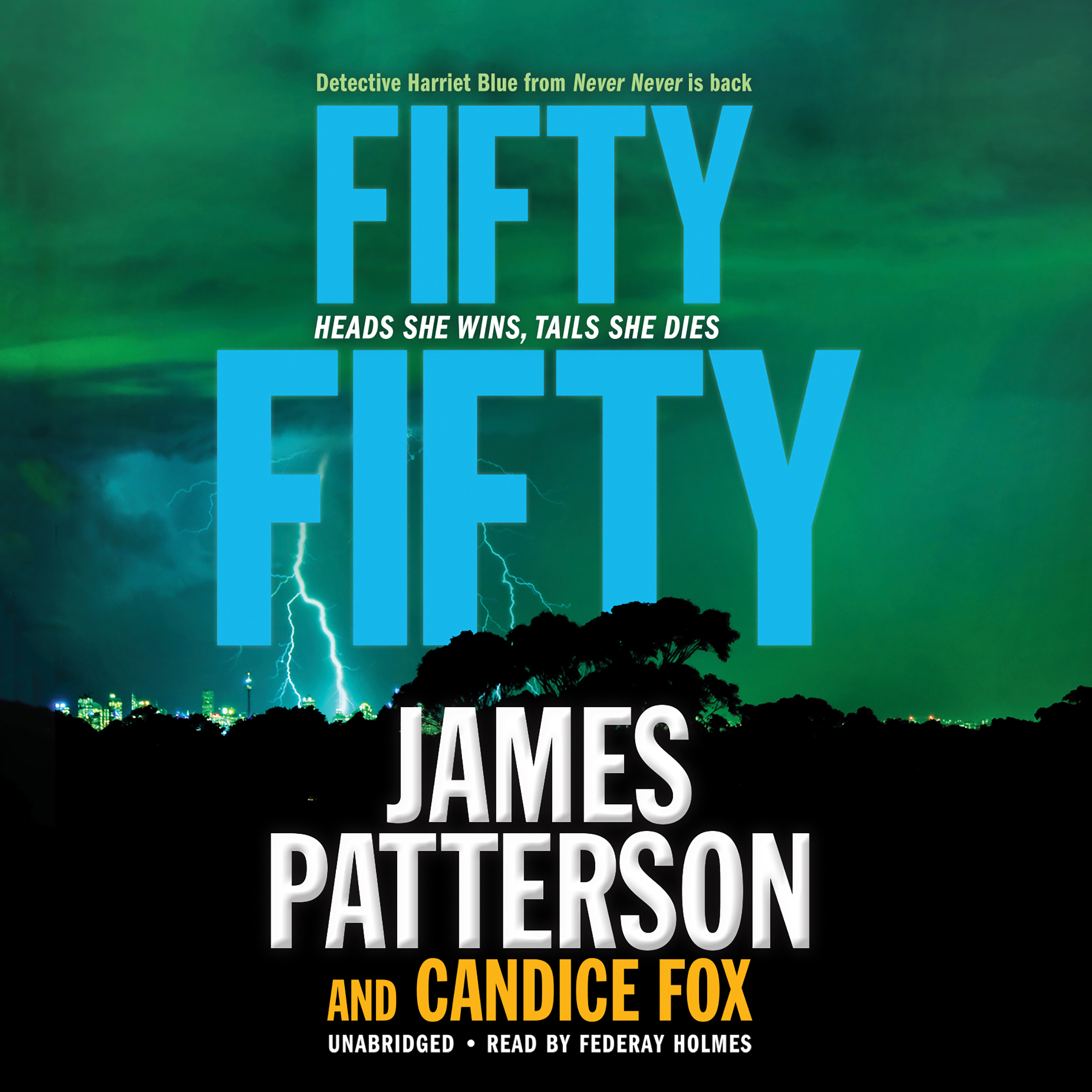 Printable Fifty Fifty Audiobook Cover Art