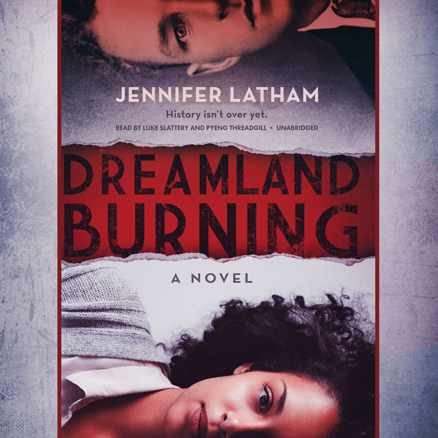 Printable Dreamland Burning Audiobook Cover Art