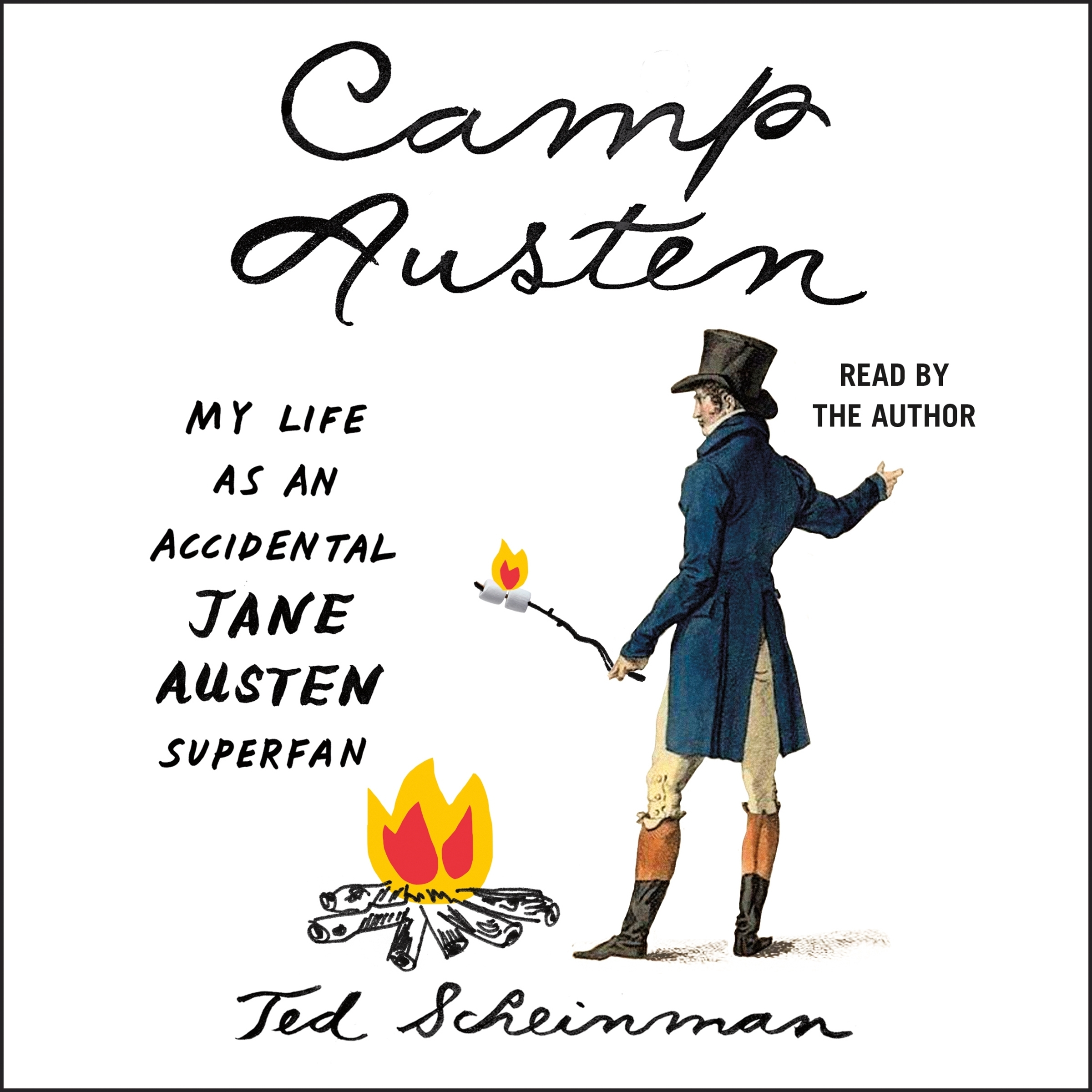 Printable Camp Austen: My Life as an Accidental Jane Austen Superfan Audiobook Cover Art