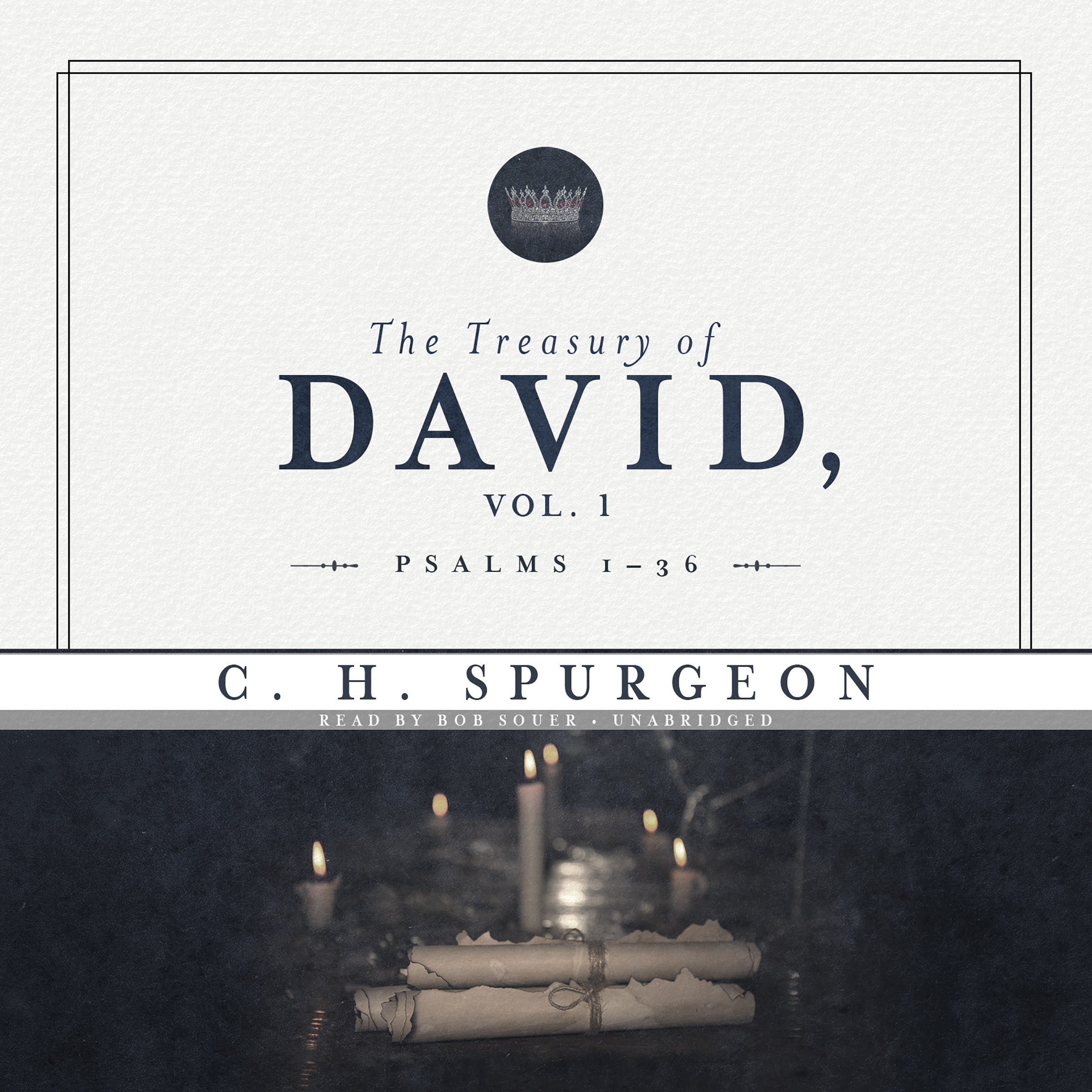 Printable The Treasury of David, Vol. 1: Psalms 1–36 Audiobook Cover Art