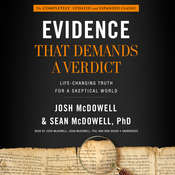 Evidence That Demands a Verdict Audiobook, by Josh McDowell, Sean McDowell