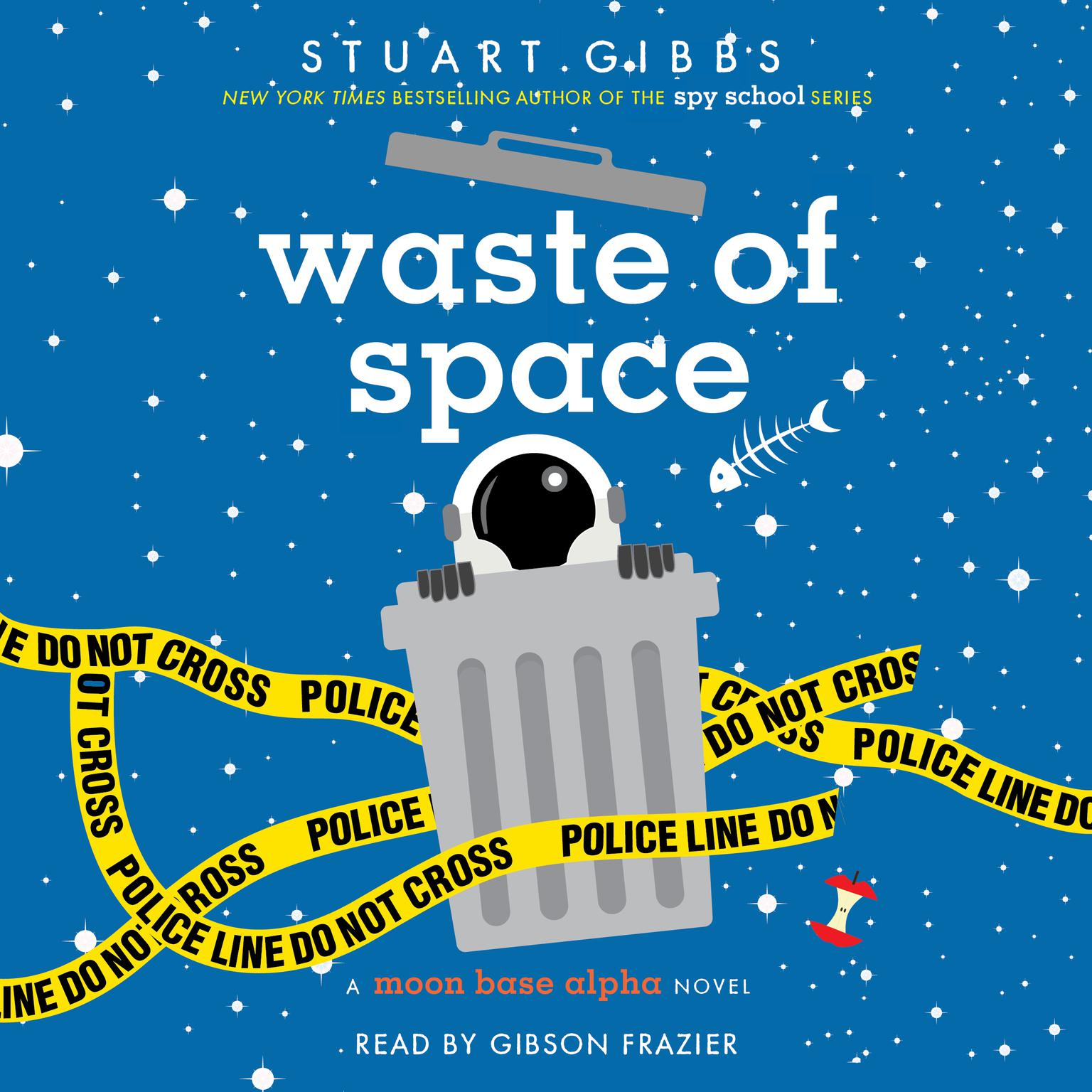 Printable Waste of Space Audiobook Cover Art