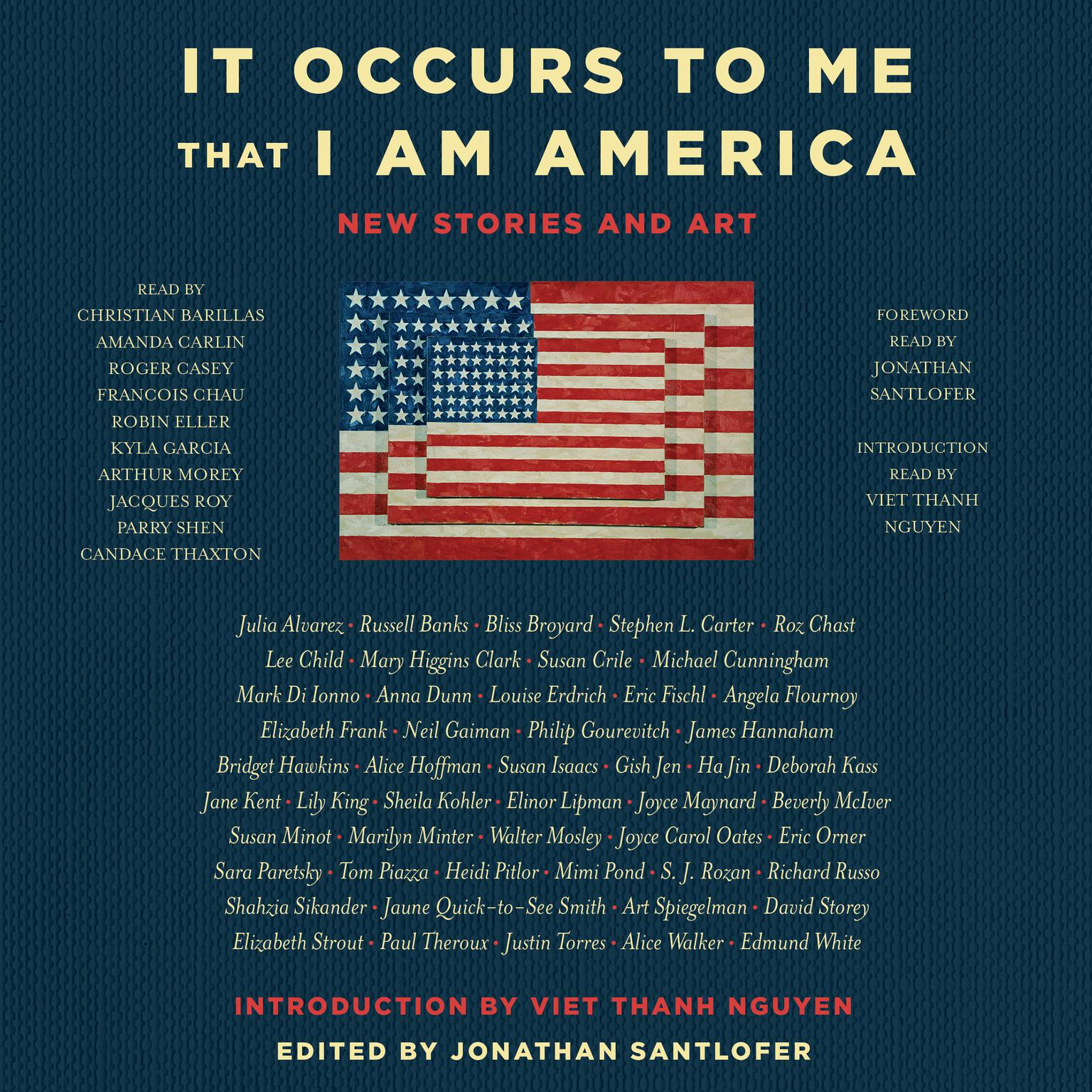 Printable It Occurs to Me That I Am America: New Stories and Art Audiobook Cover Art