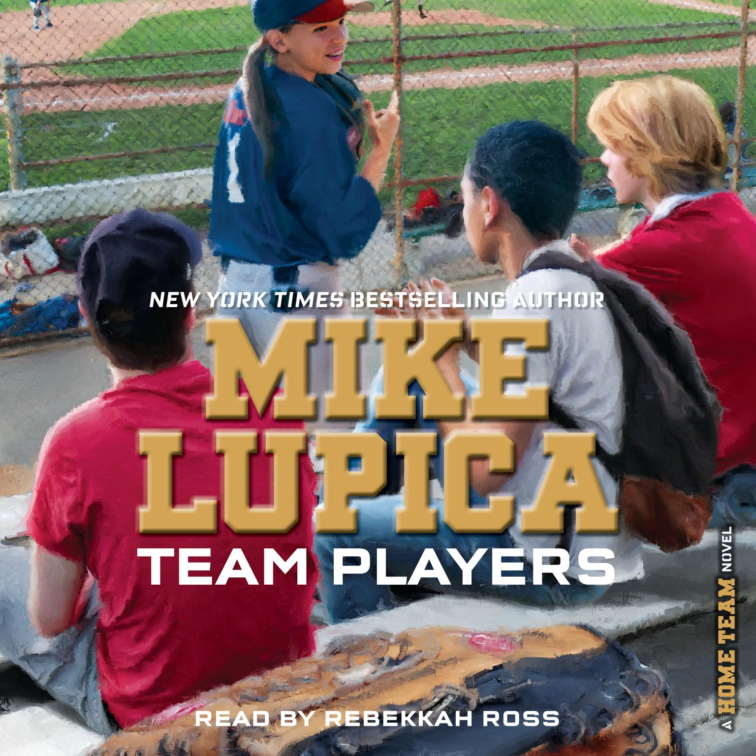 Printable Team Players Audiobook Cover Art