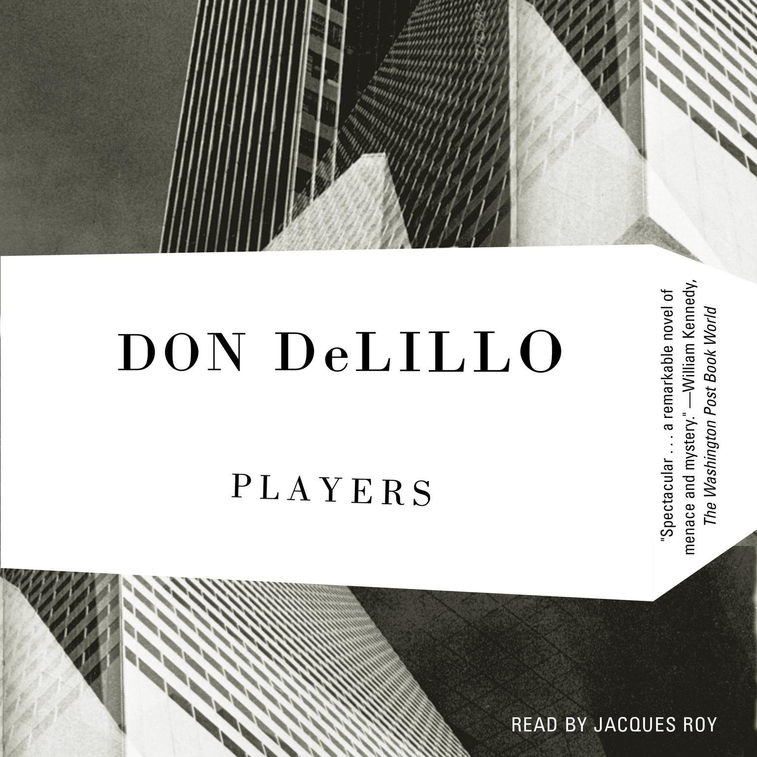 Printable Players Audiobook Cover Art