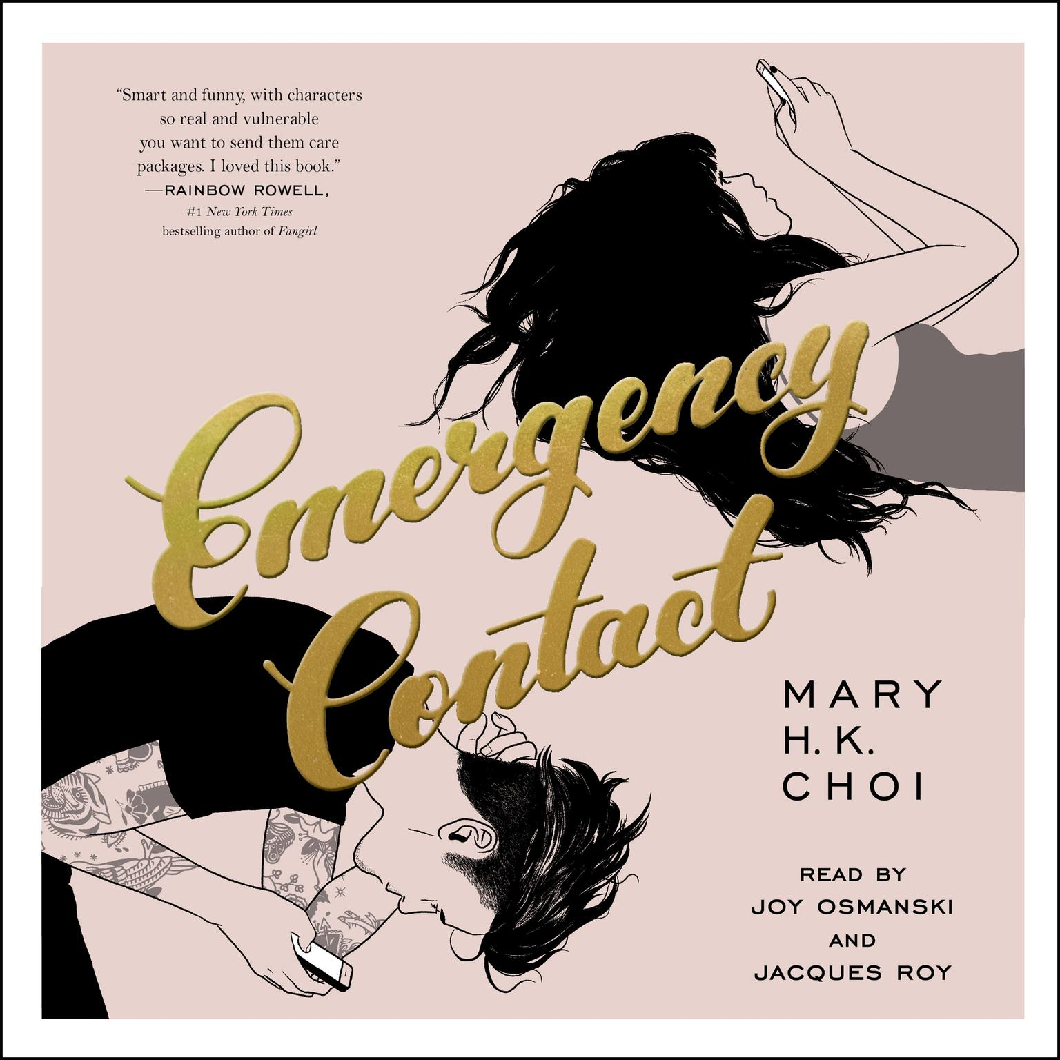 Printable Emergency Contact Audiobook Cover Art