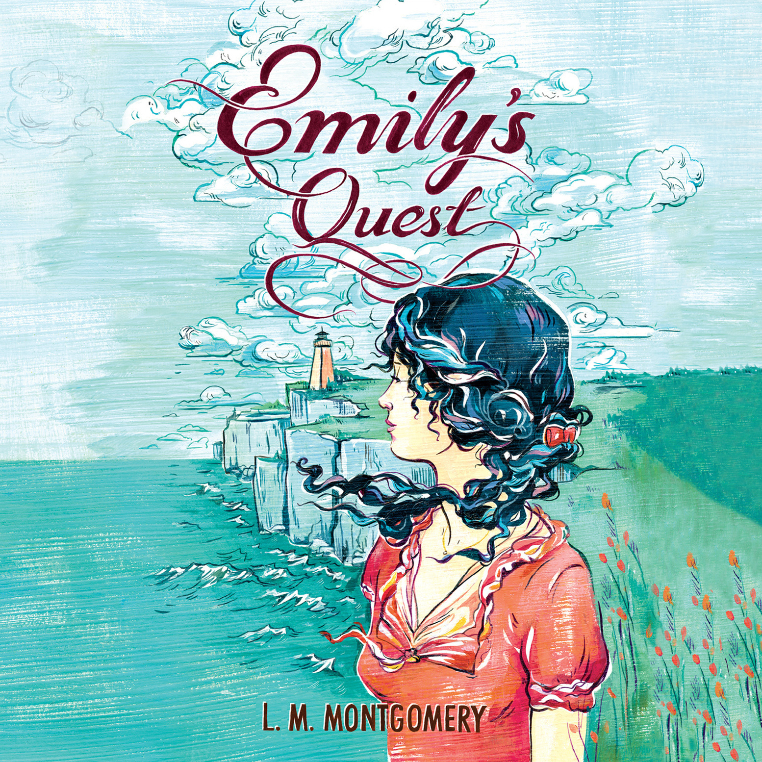 Printable Emily's Quest Audiobook Cover Art