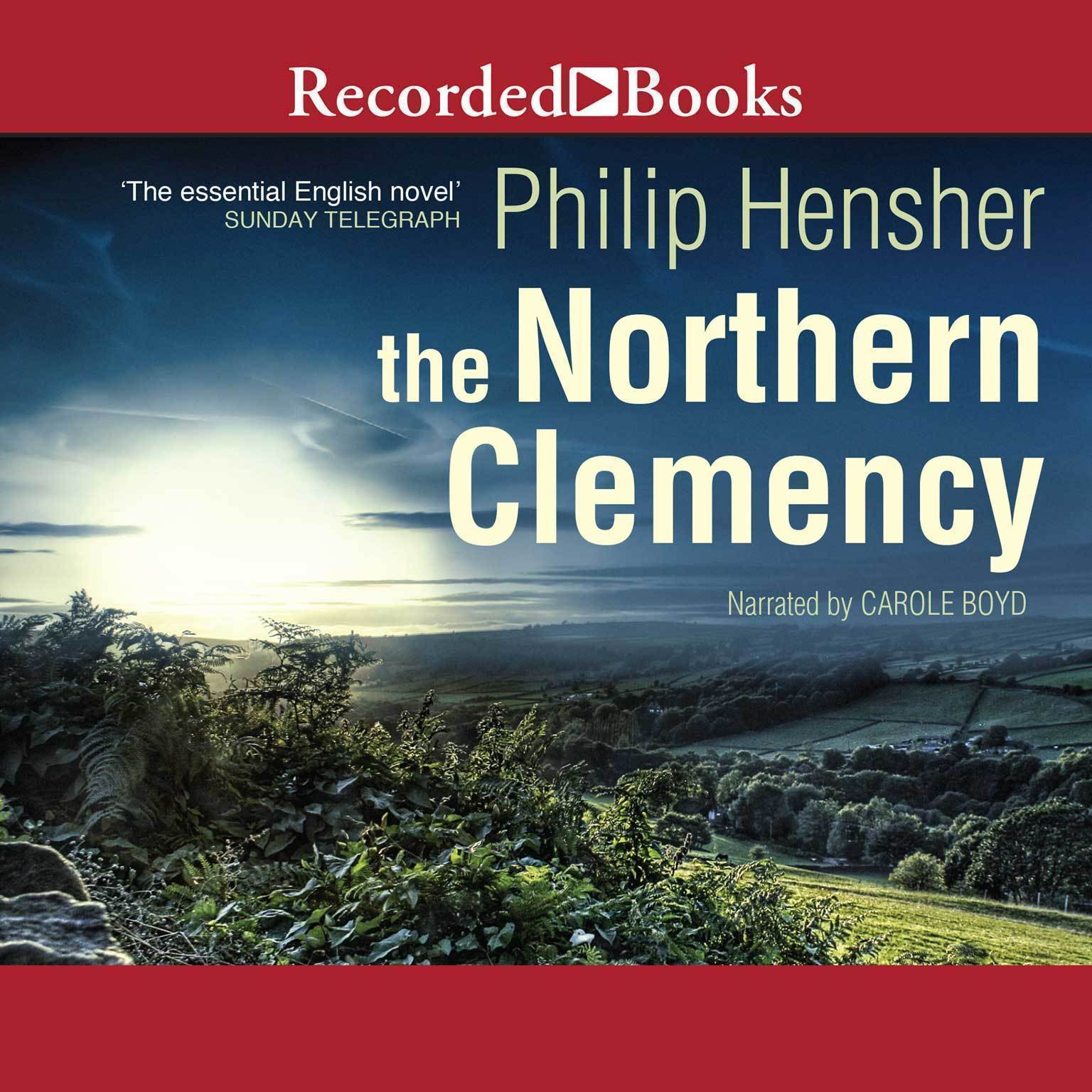 Printable The Northern Clemency Audiobook Cover Art