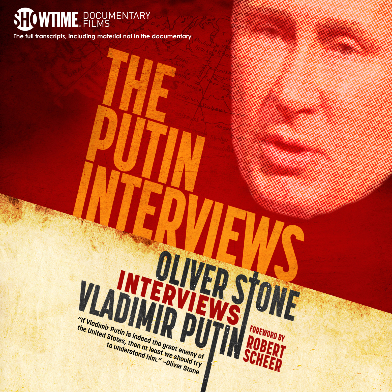 Printable The Putin Interviews: Oliver Stone Interviews Vladimir Putin Audiobook Cover Art