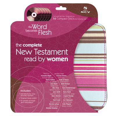 The Word Becomes Flesh Audio Bible - New Century Version, NCV: New Testament: The Complete New Testament Read by Women Audiobook, by Rebecca St. James