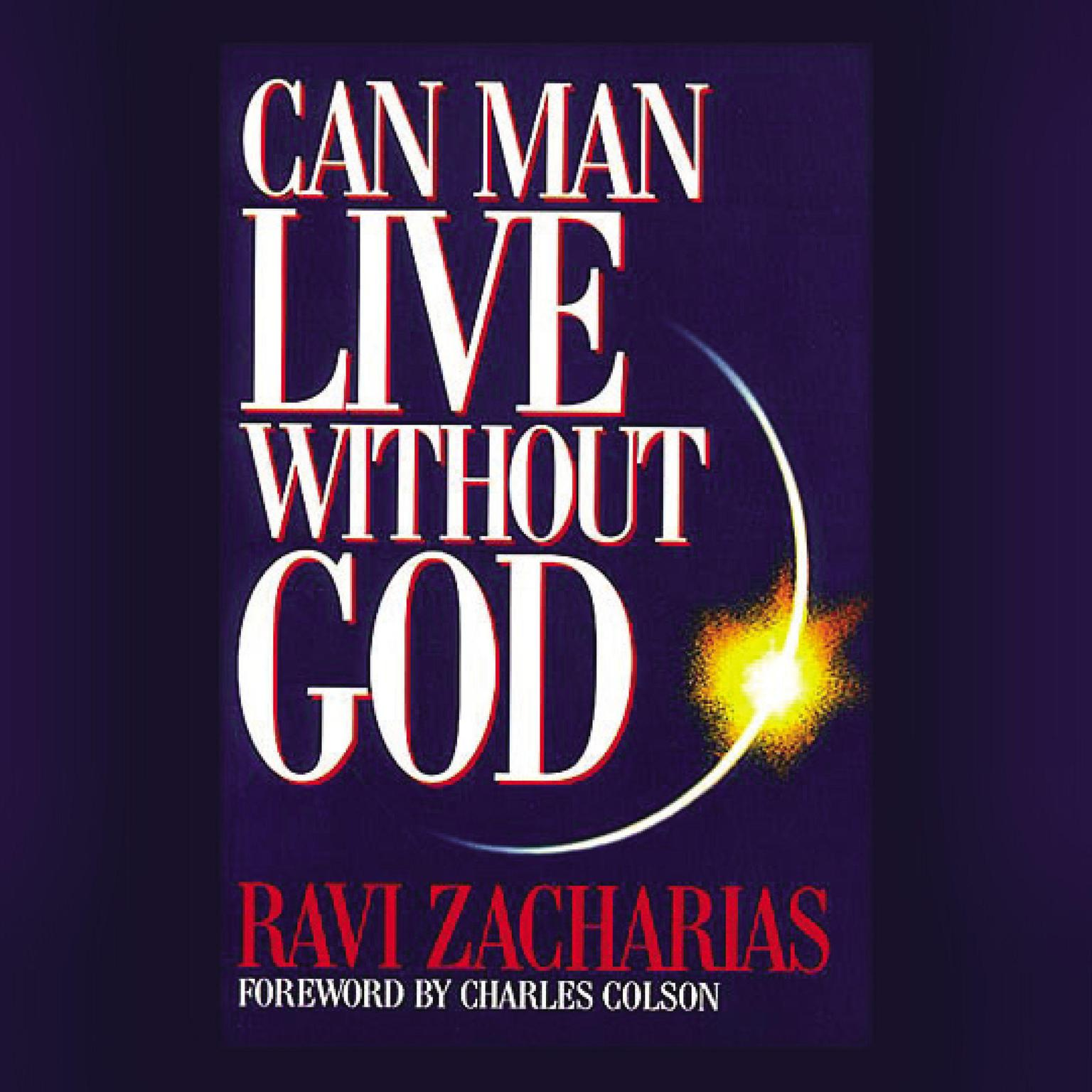 Printable Can Man Live without God Audiobook Cover Art
