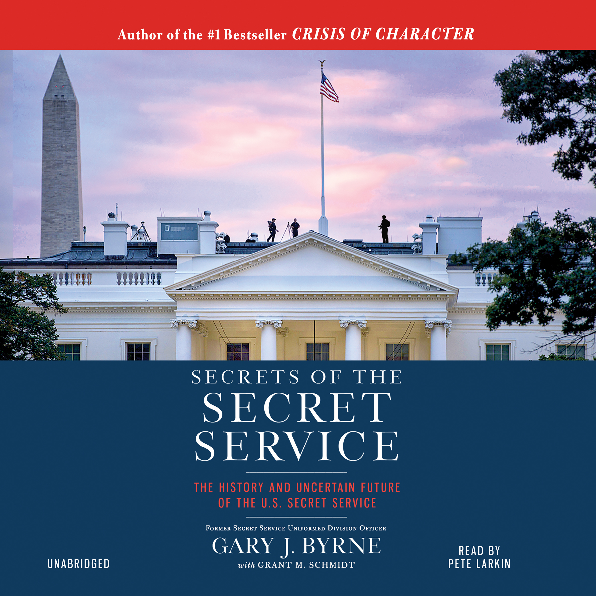 Printable Secrets of the Secret Service: The History and Uncertain Future of the U.S. Secret Service Audiobook Cover Art