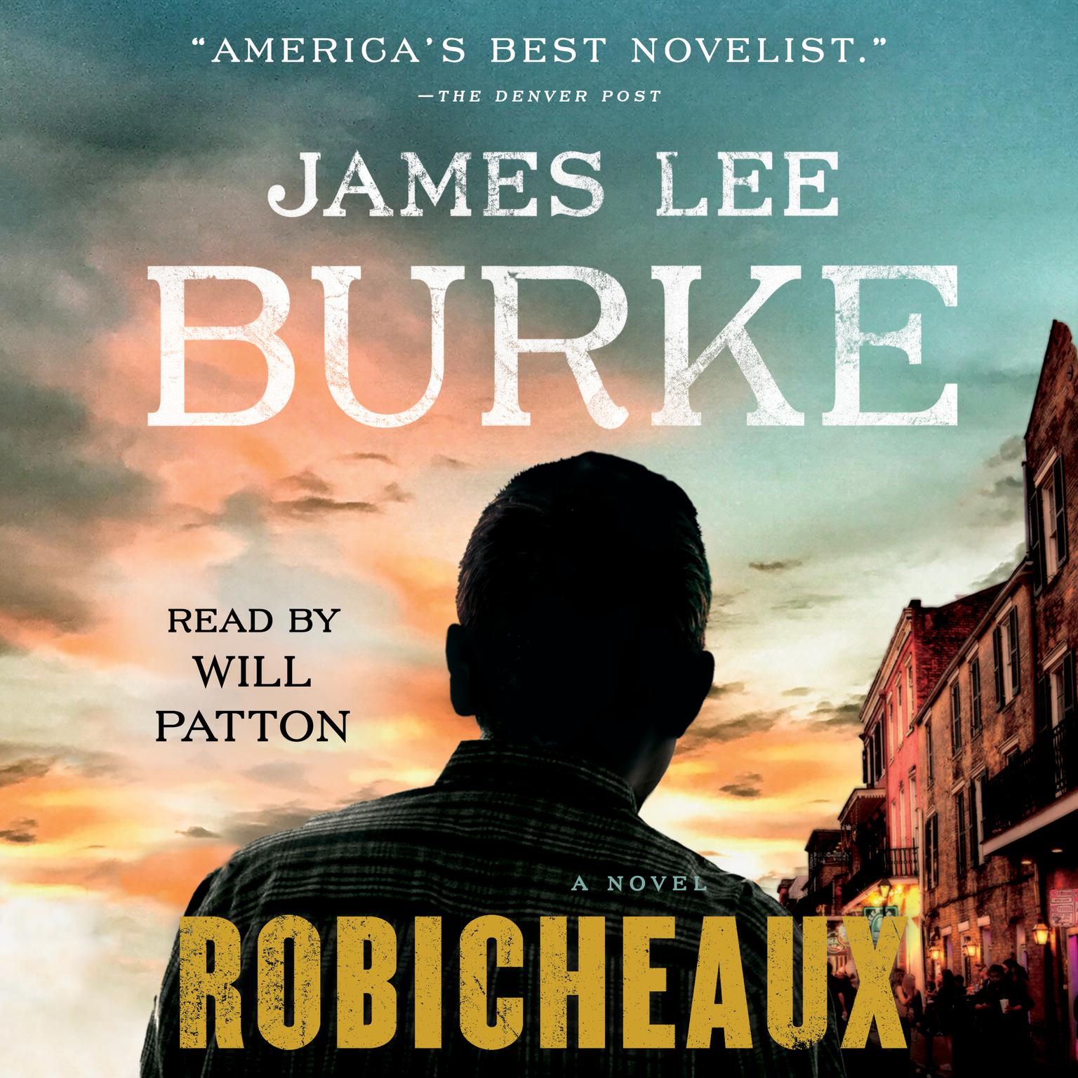 Printable Robicheaux: A Novel Audiobook Cover Art