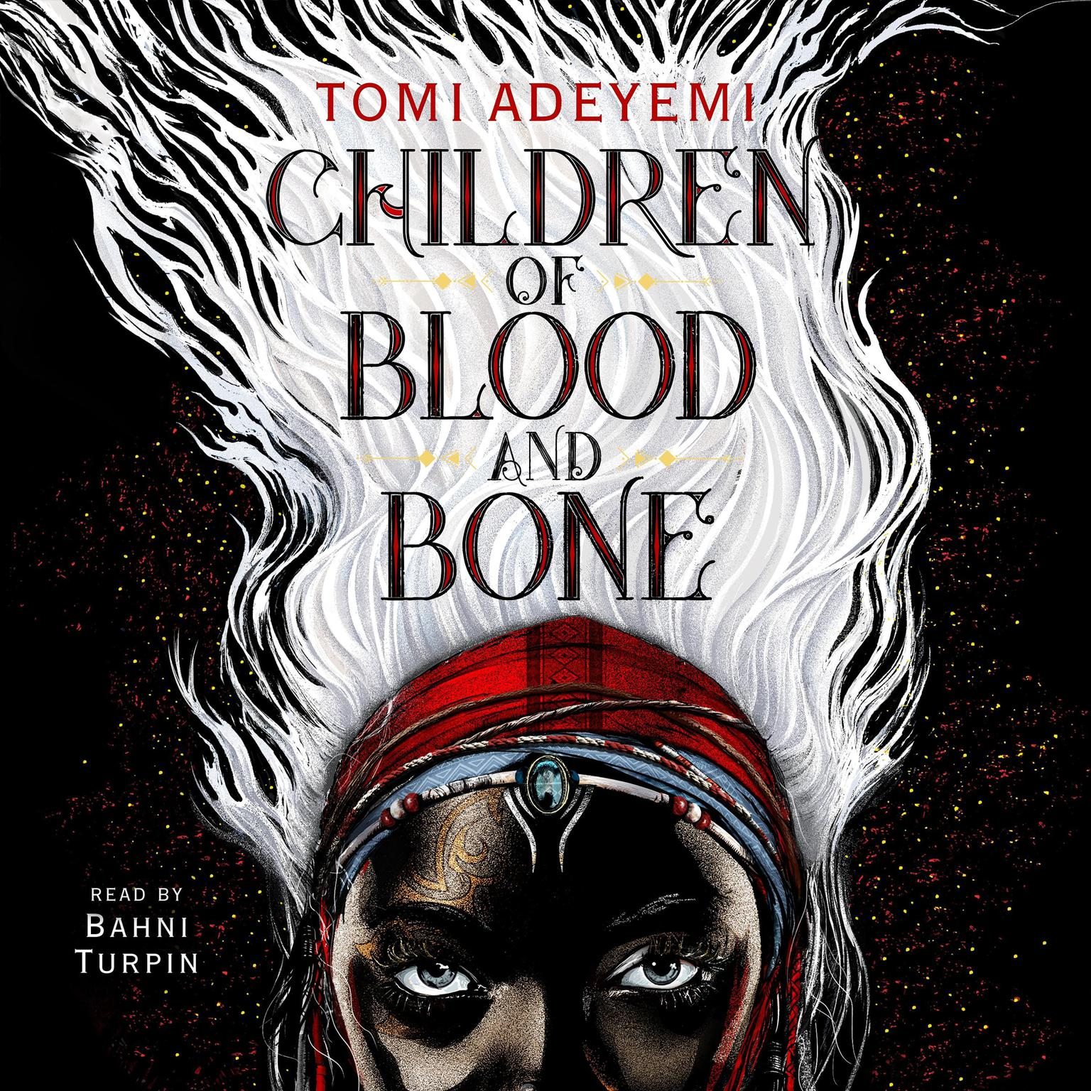 Printable Children of Blood and Bone Audiobook Cover Art