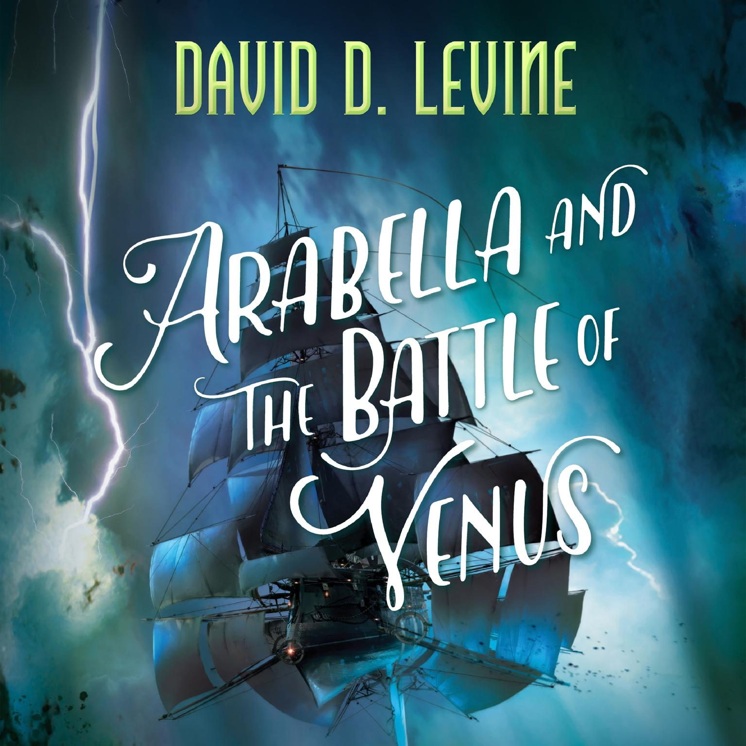 Printable Arabella and the Battle of Venus Audiobook Cover Art