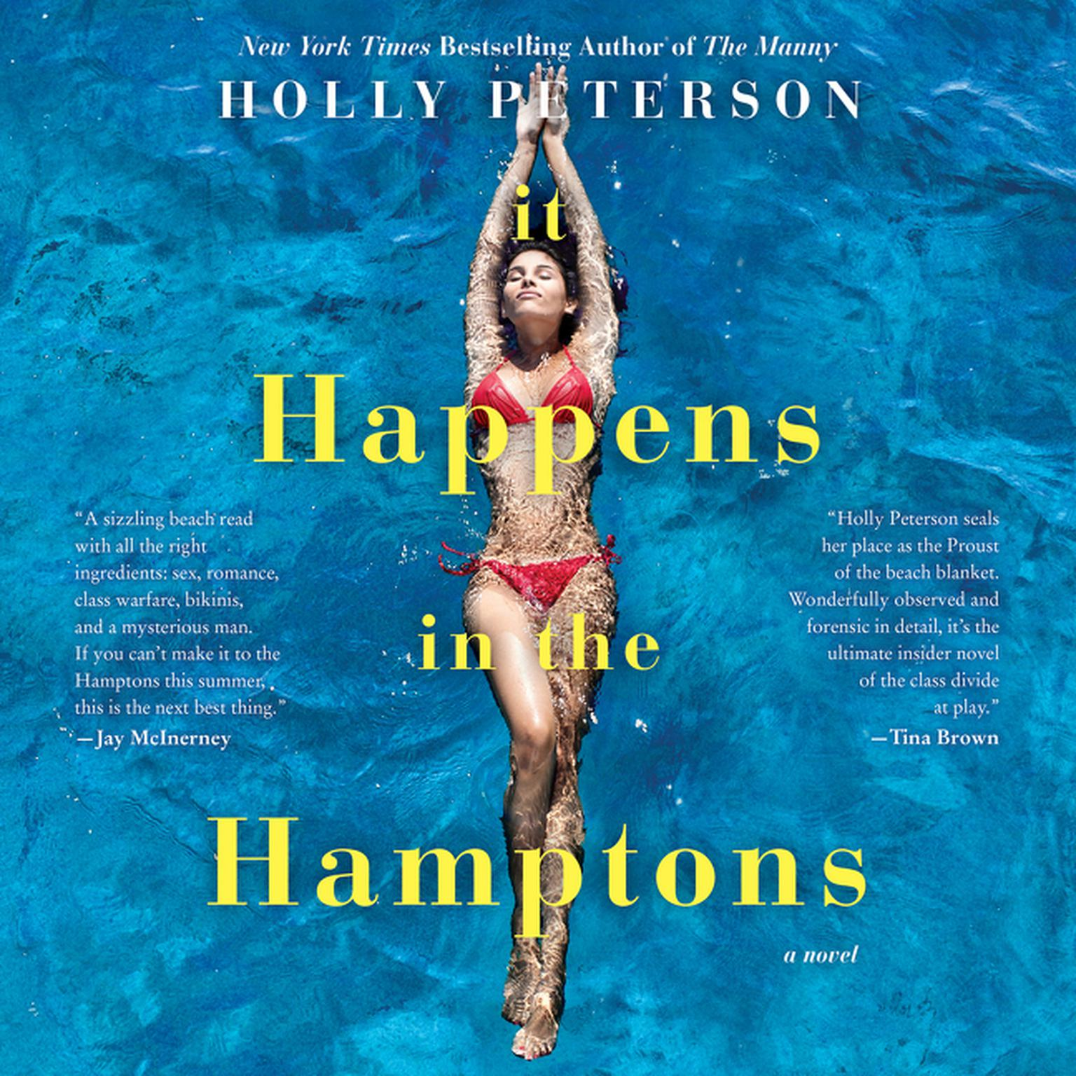 It Happens in the Hamptons: A Novel Audiobook, by Holly Peterson