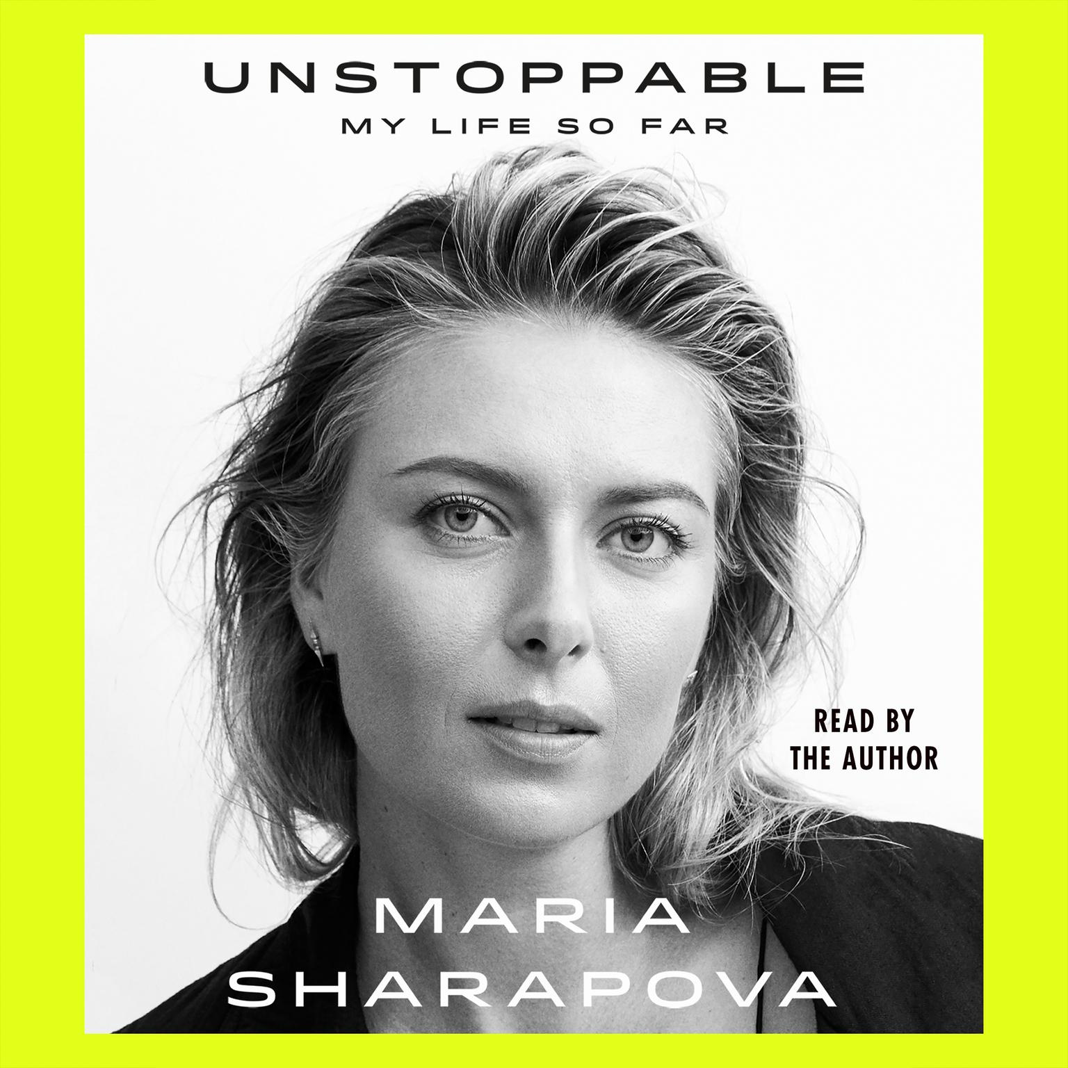 Printable Unstoppable: My Life So Far Audiobook Cover Art