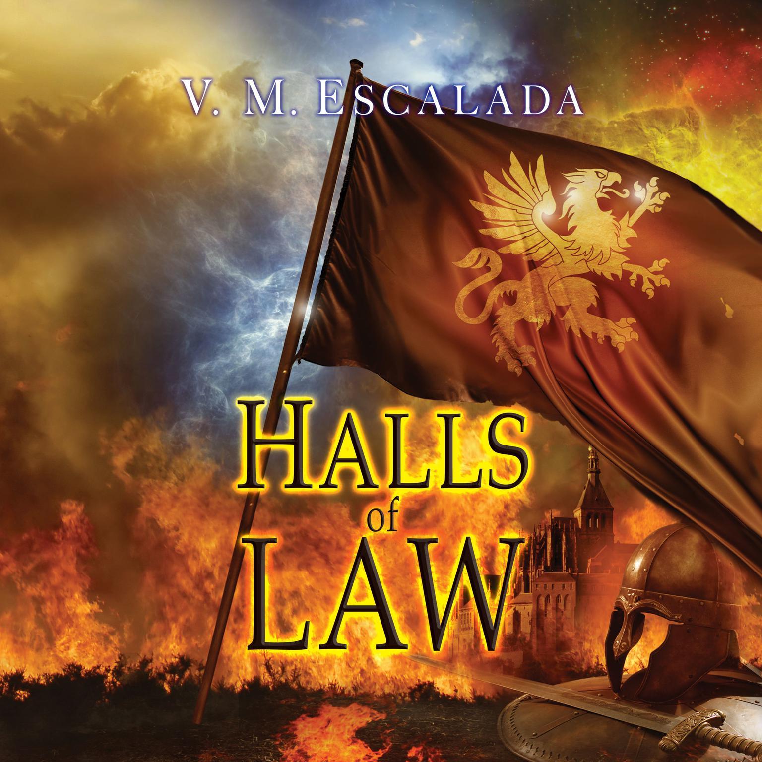 Halls of Law Audiobook, by V. M. Escalada