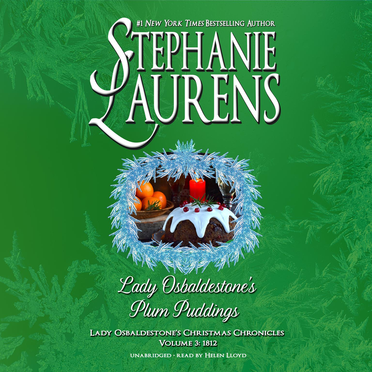 Printable Lady Osbaldestone's Plum Puddings: Lady Osbaldestone's Christmas Chronicles, Volume 3: 1812 Audiobook Cover Art