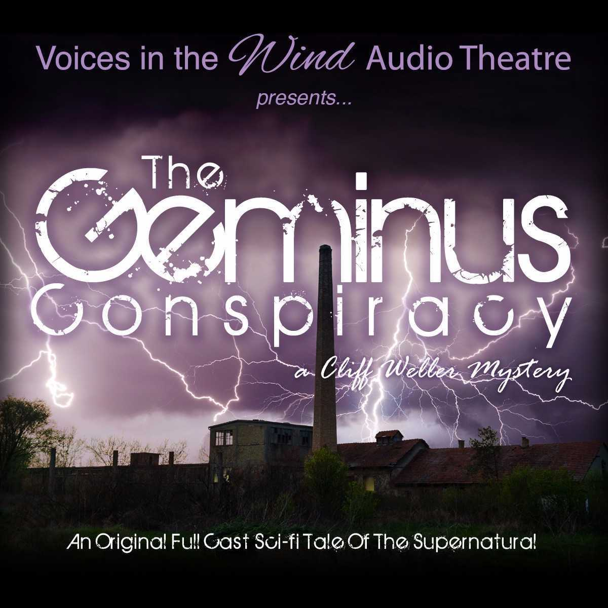Printable The Geminus Conspiracy: A Cliff Weller Mystery Audiobook Cover Art
