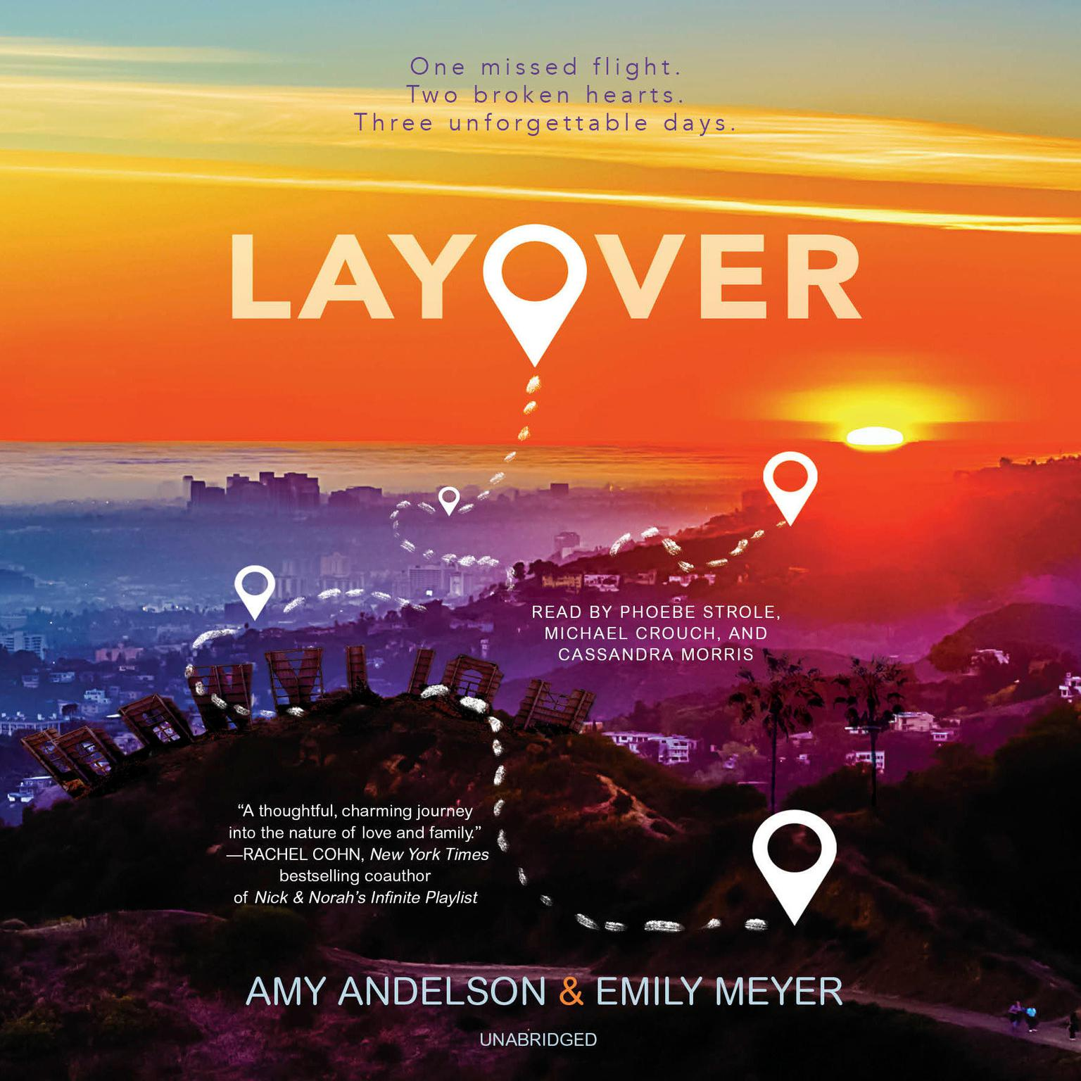 Layover Audiobook, by Amy Andelson
