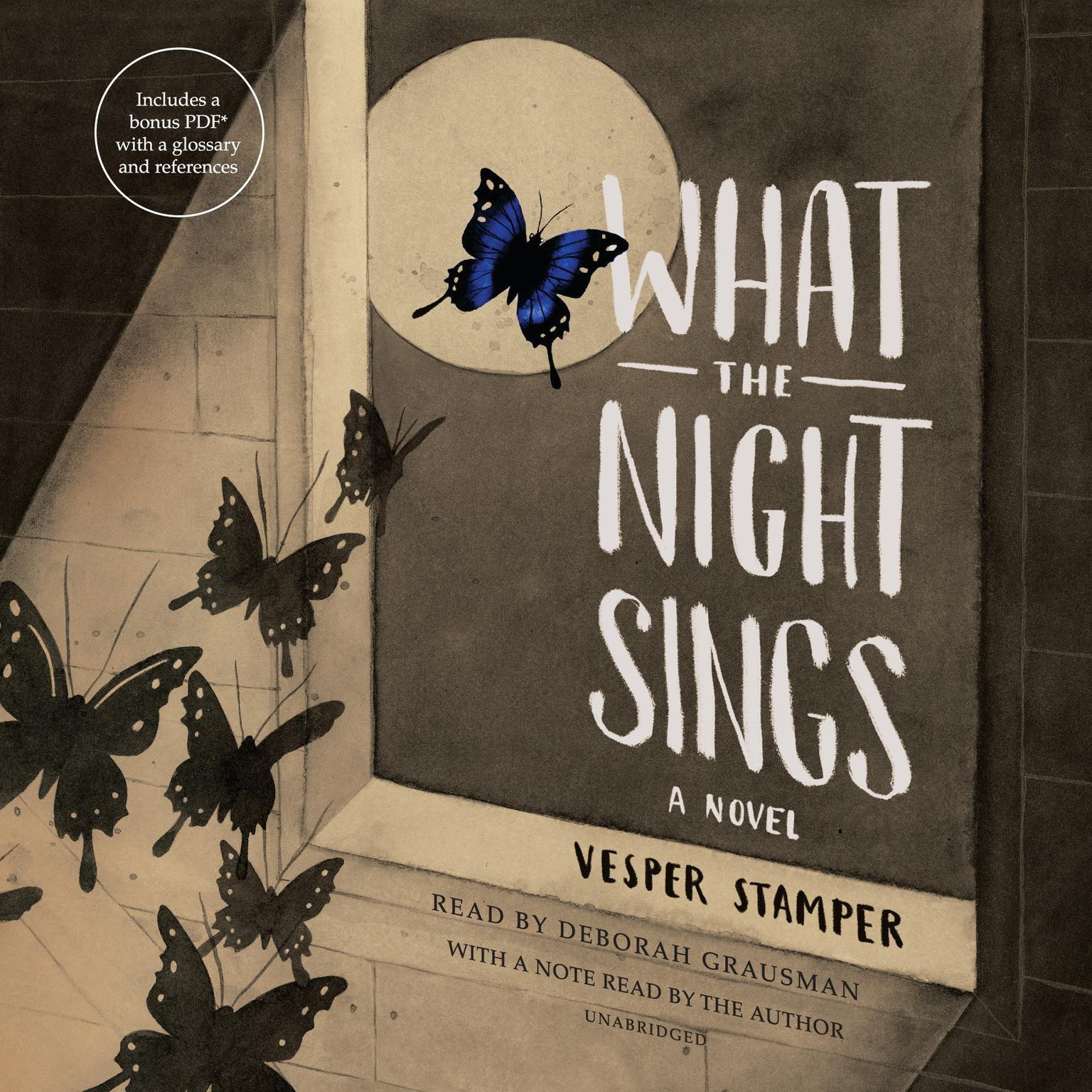 Printable What the Night Sings Audiobook Cover Art