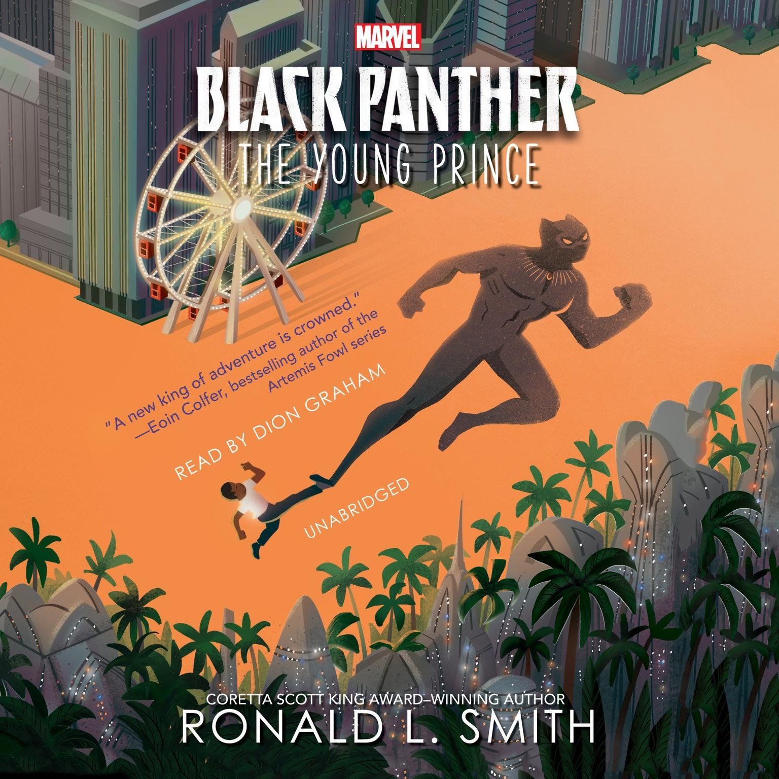 Black Panther: The Young Prince Audiobook, by Ronald L. Smith