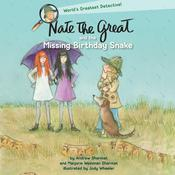 Nate the Great and the Missing Birthday Snake Audiobook, by Marjorie Weinman Sharmat, Andrew Sharmat
