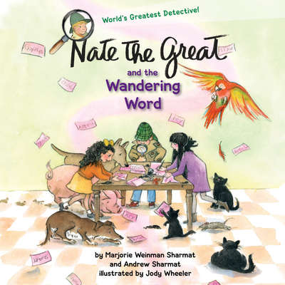 Nate the Great and the Wandering Word Audiobook, by Andrew Sharmat