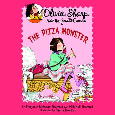 The Pizza Monster Audiobook, by Mitchell Sharmat