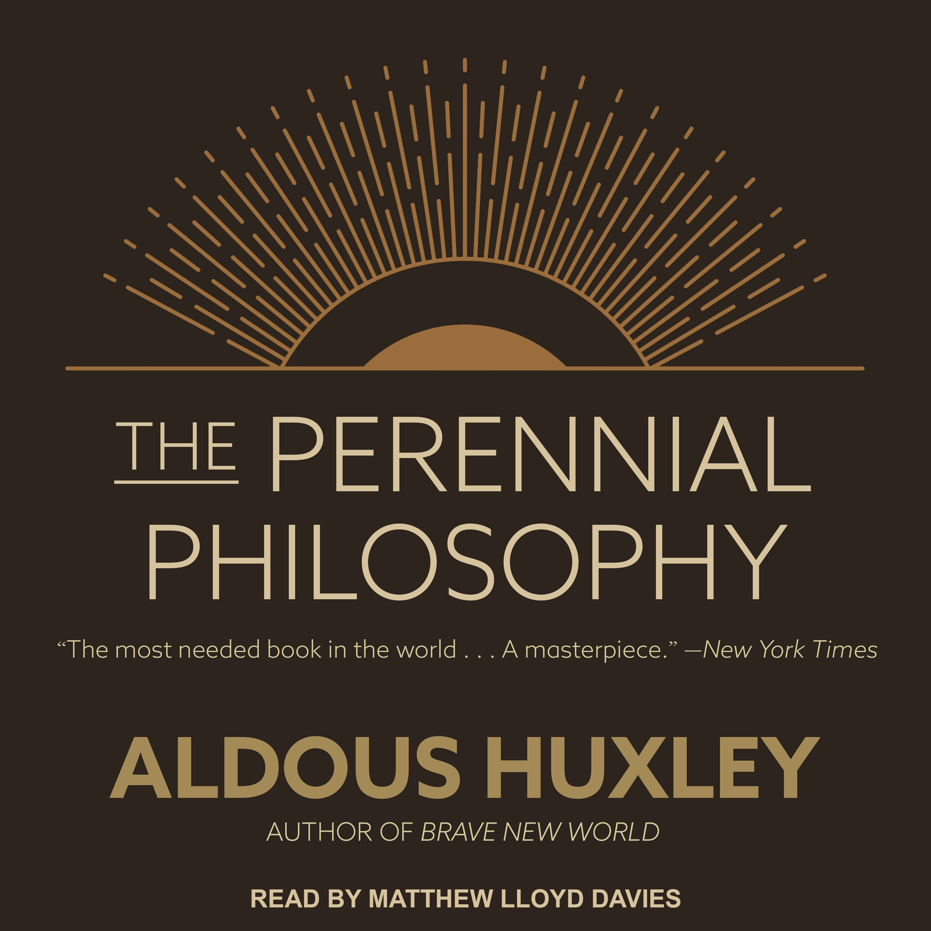 Printable The Perennial Philosophy Audiobook Cover Art