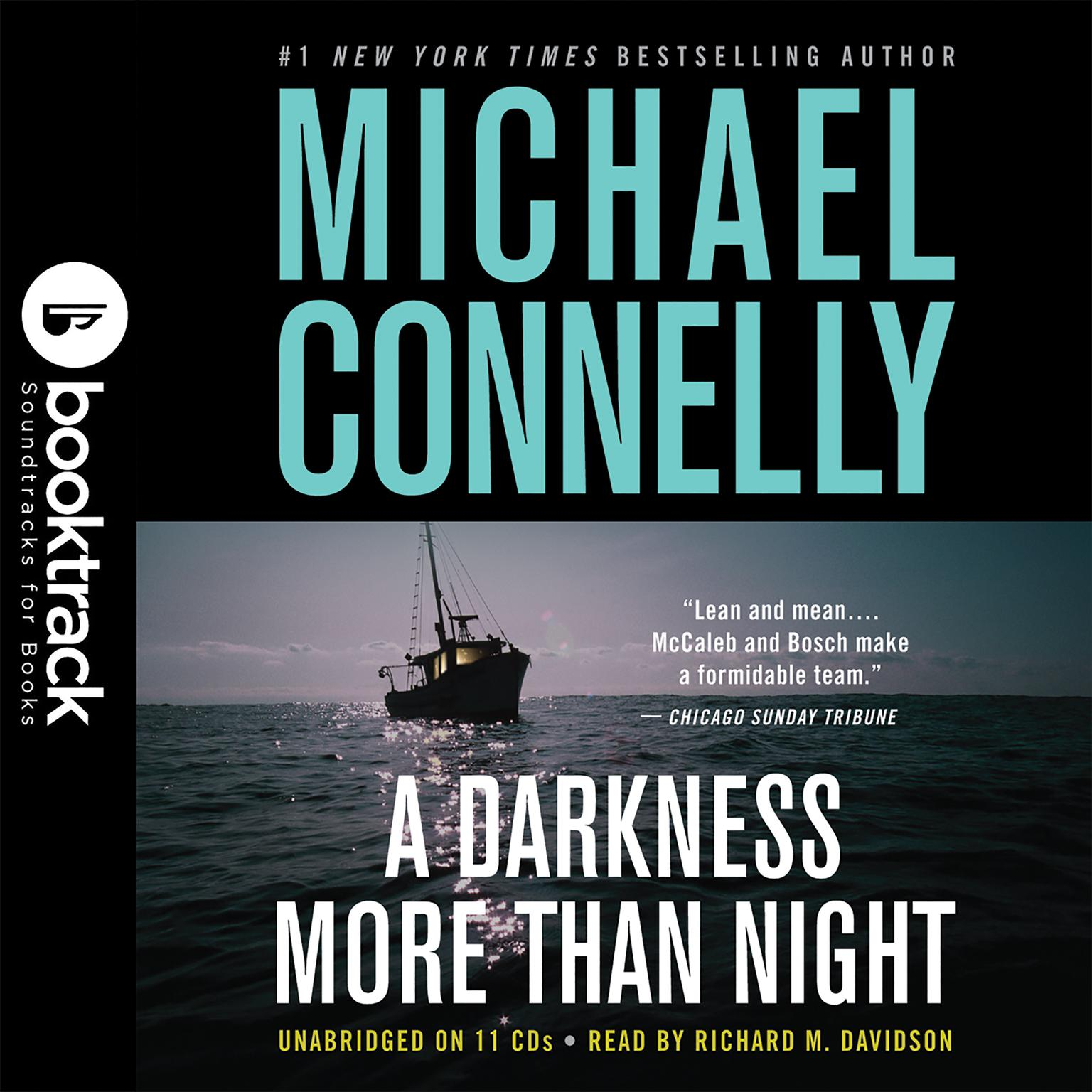 Printable A Darkness More Than Night: Booktrack Edition Audiobook Cover Art