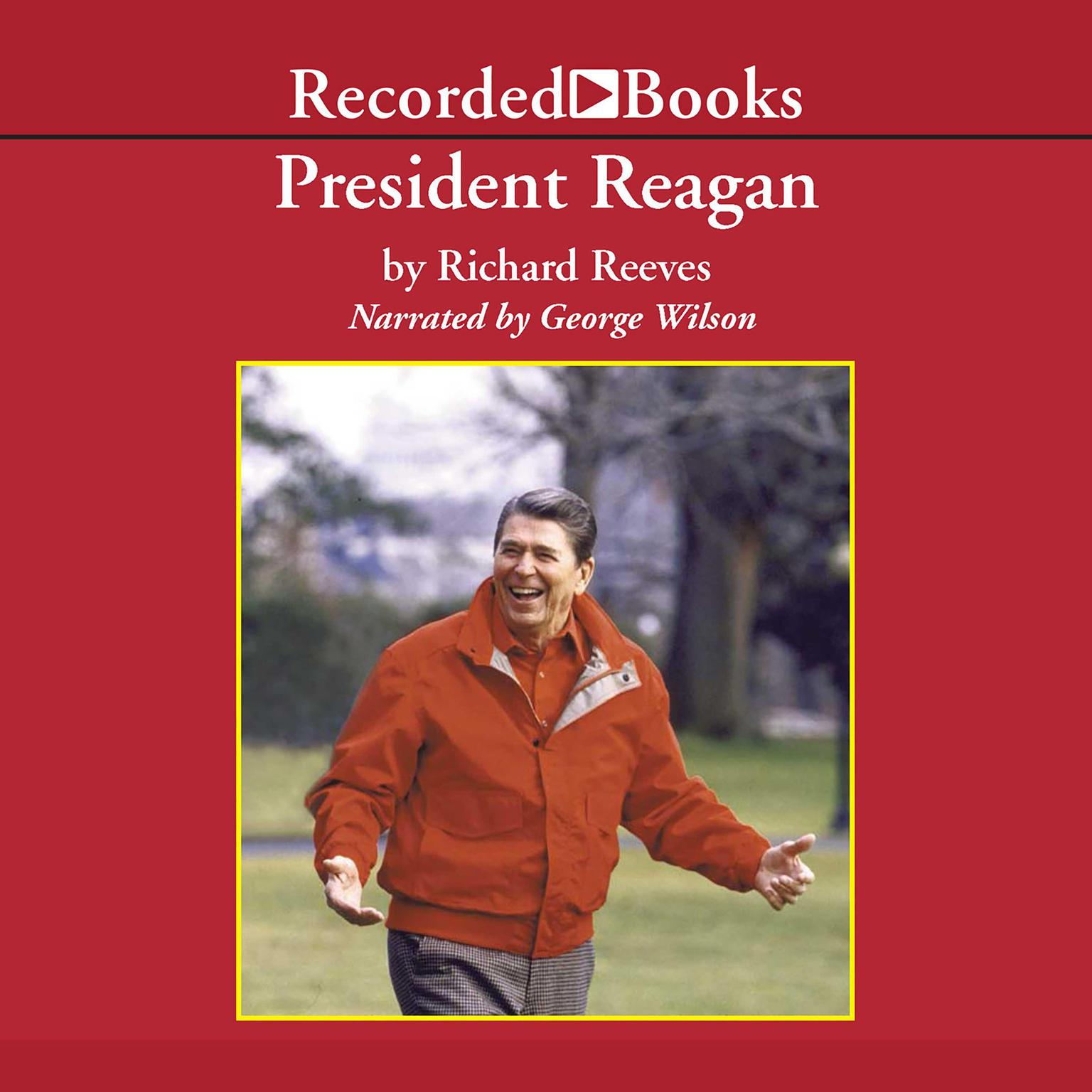 Printable President Reagan: The Triumph of Imagination Audiobook Cover Art