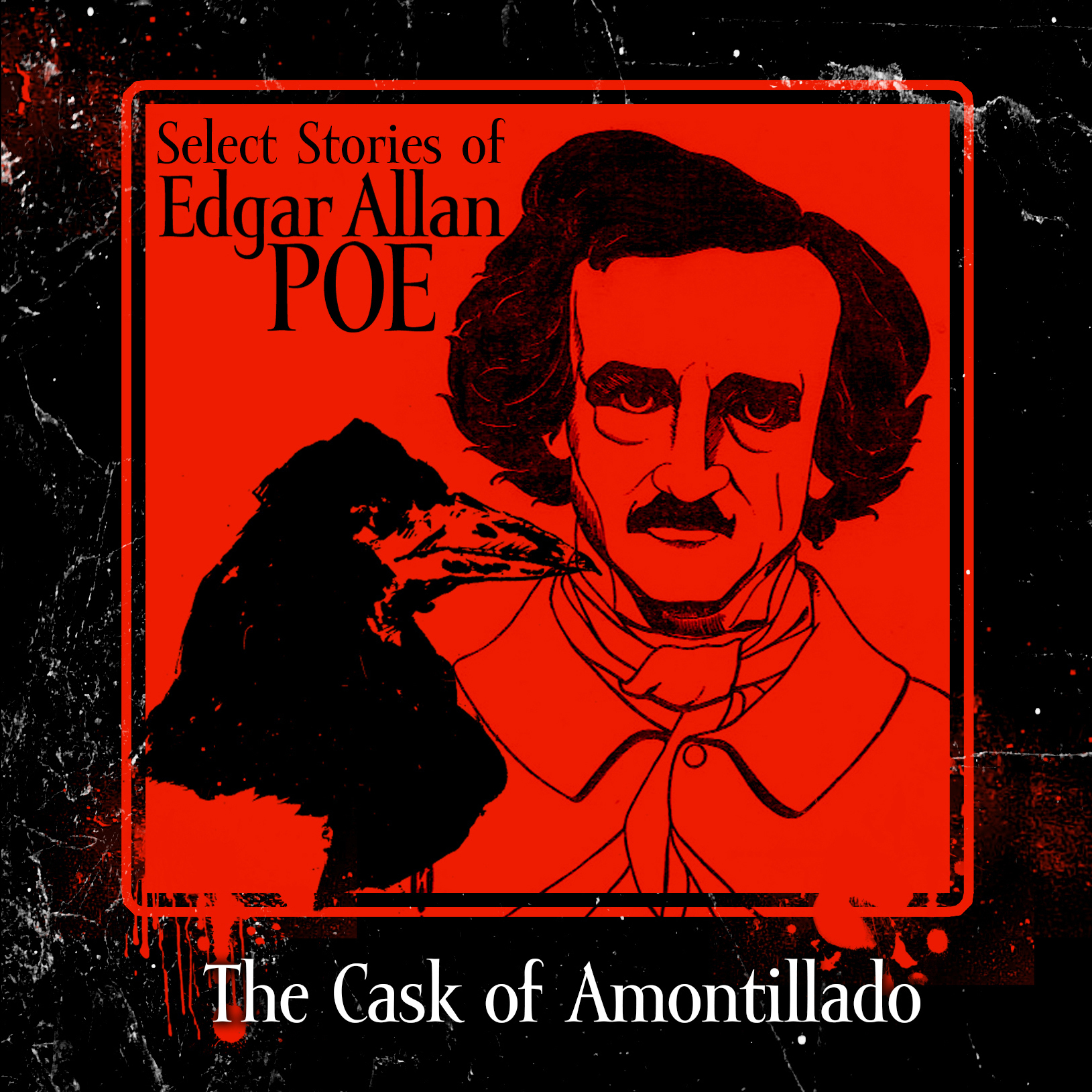 Printable The Cask of Amontillado Audiobook Cover Art