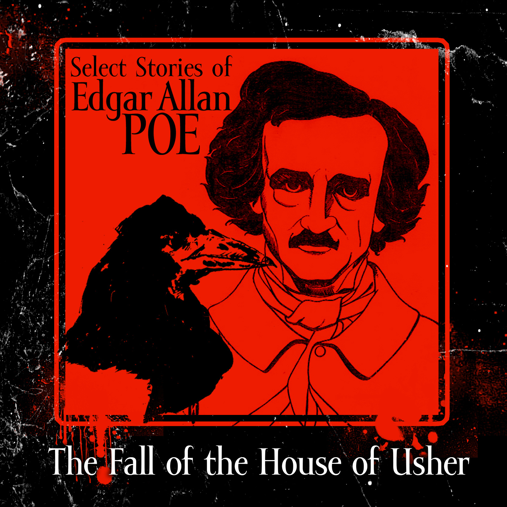 Printable The Fall of the House of Usher Audiobook Cover Art