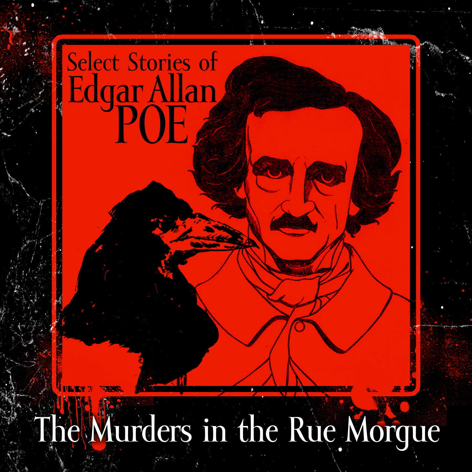 Printable The Murders in the Rue Morgue Audiobook Cover Art