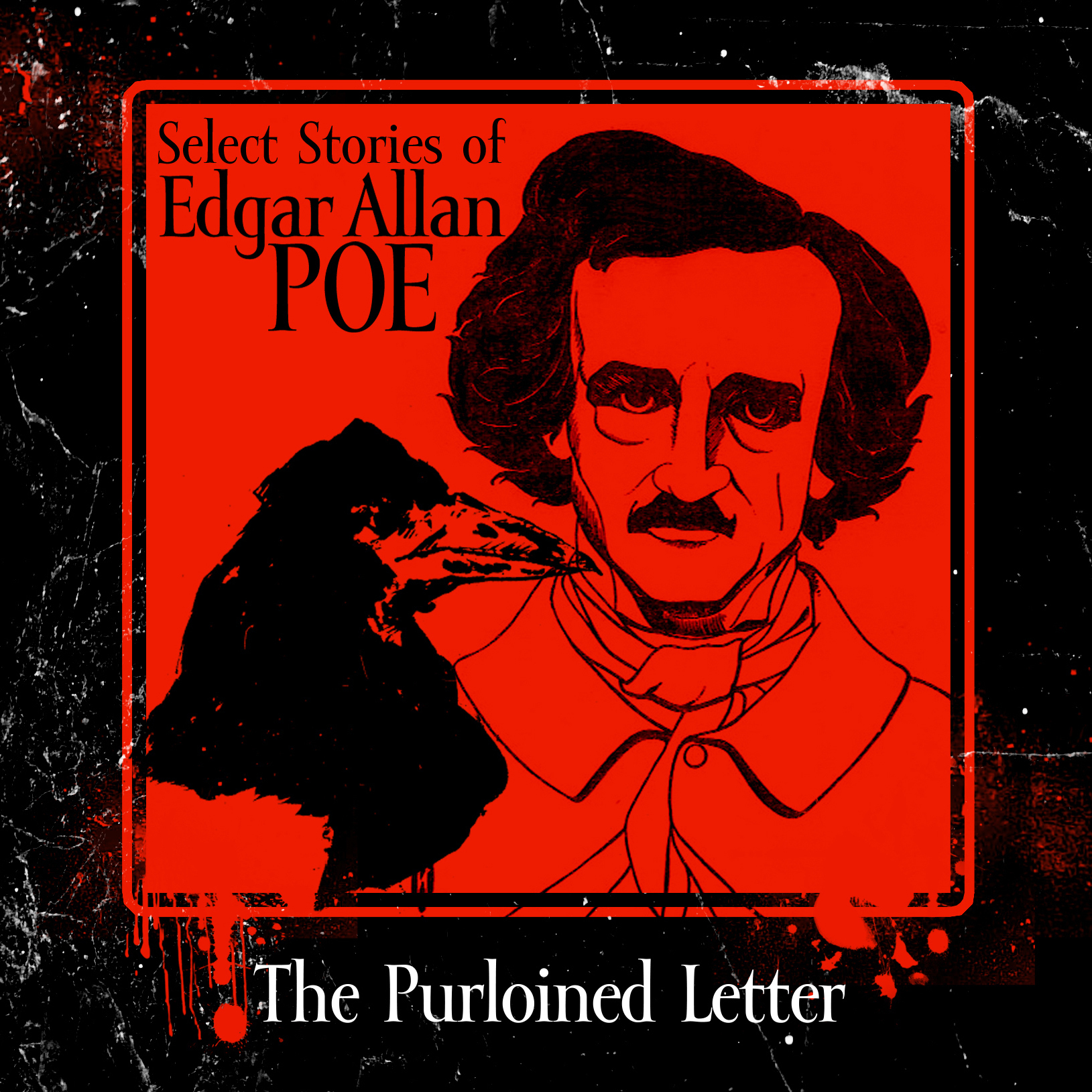 Printable The Purloined Letter Audiobook Cover Art