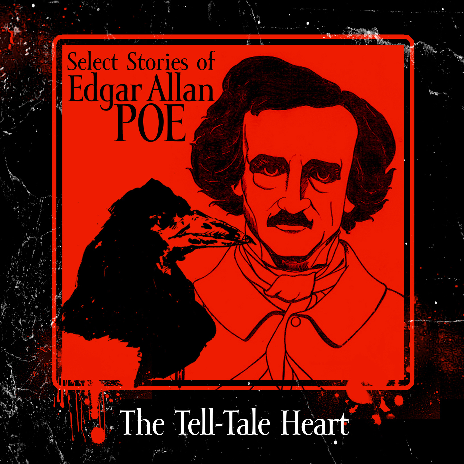 Printable The Tell-Tale Heart Audiobook Cover Art