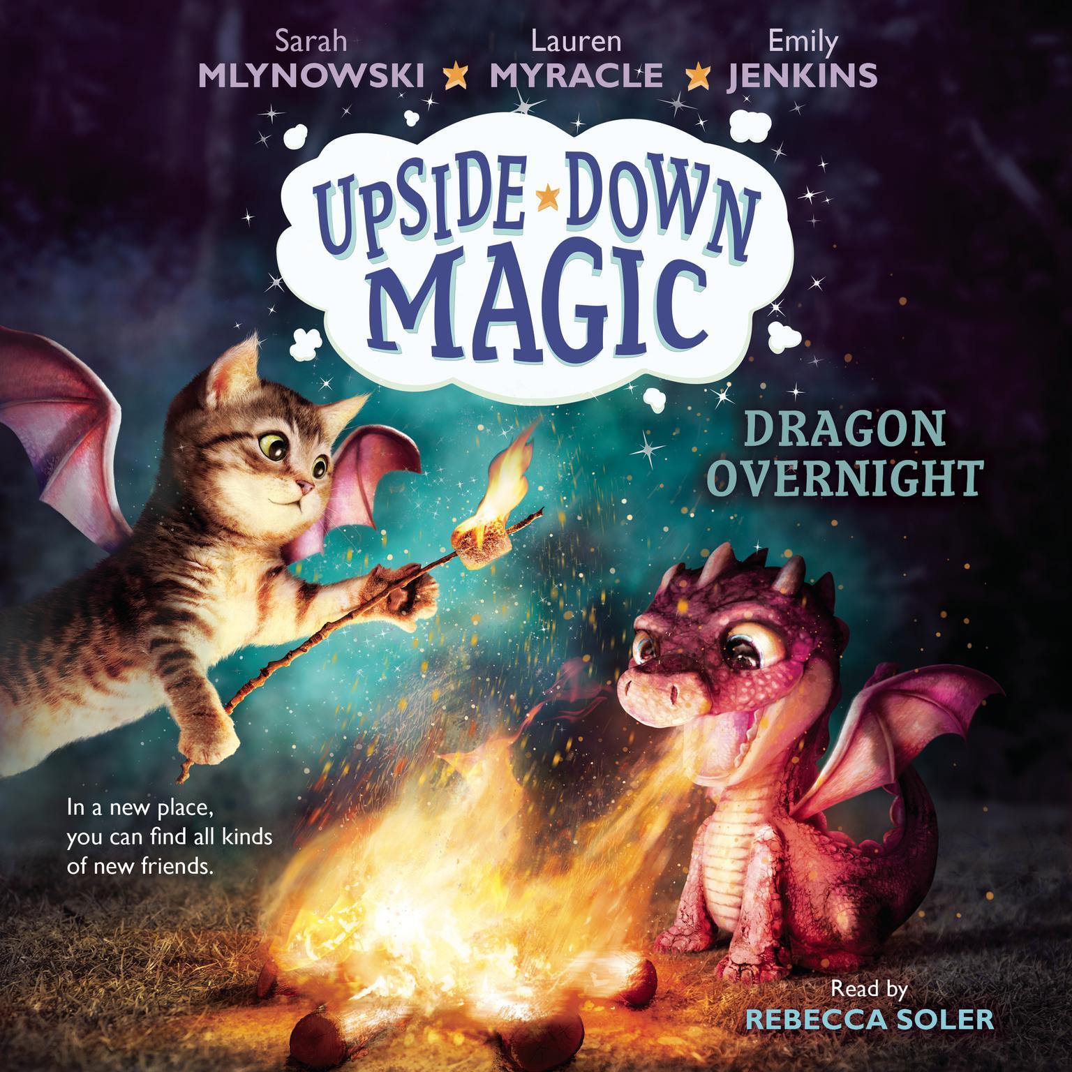 Dragon Overnight Audiobook, by Lauren Myracle