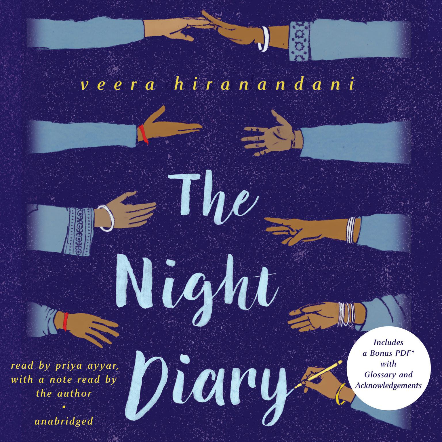 Printable The Night Diary Audiobook Cover Art