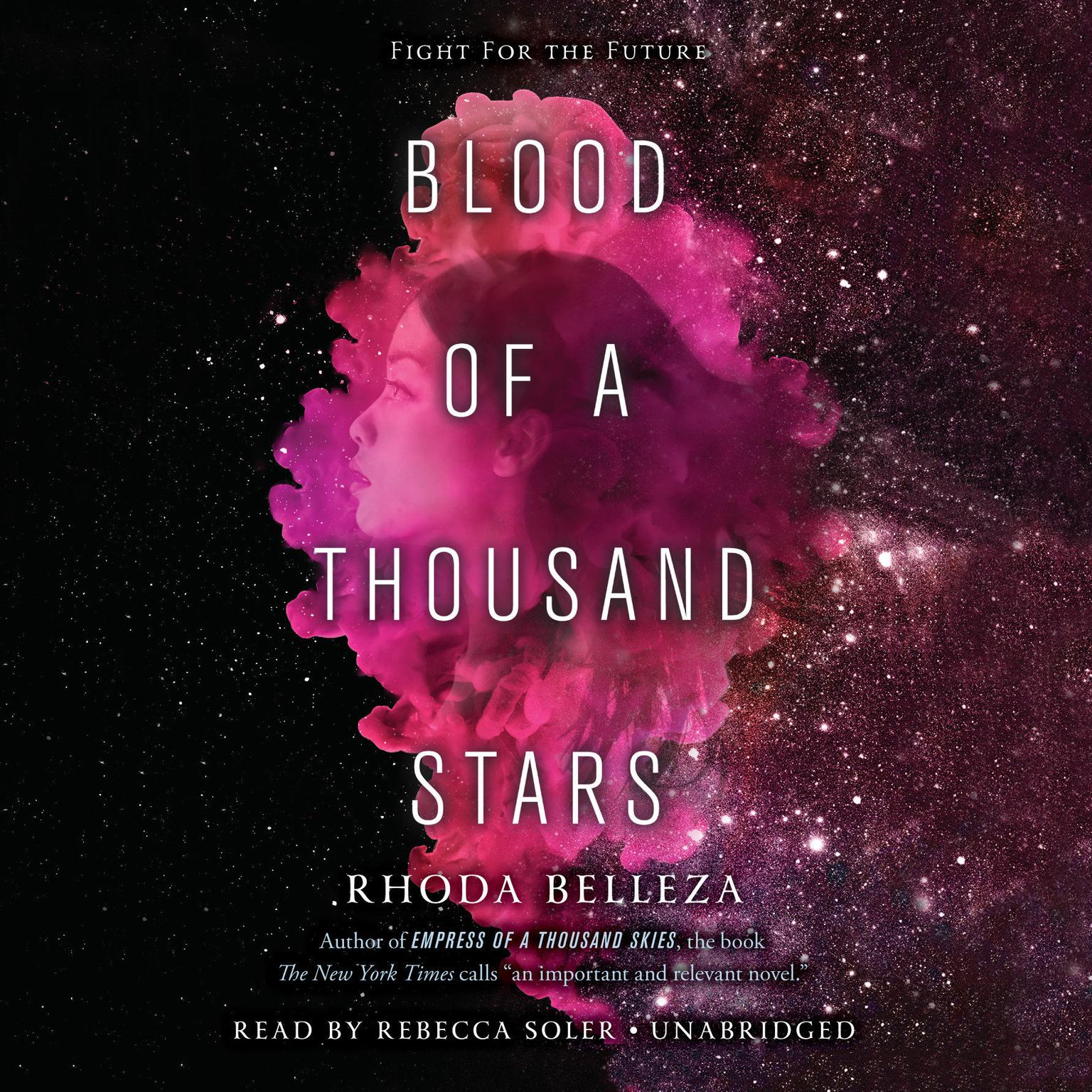 Printable Blood of a Thousand Stars Audiobook Cover Art