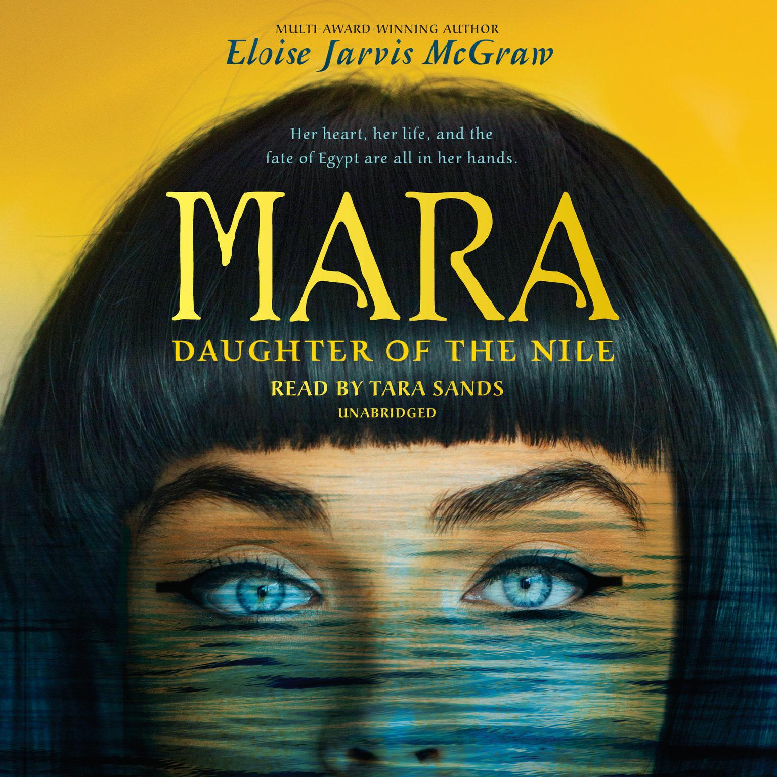 Printable Mara, Daughter of the Nile Audiobook Cover Art